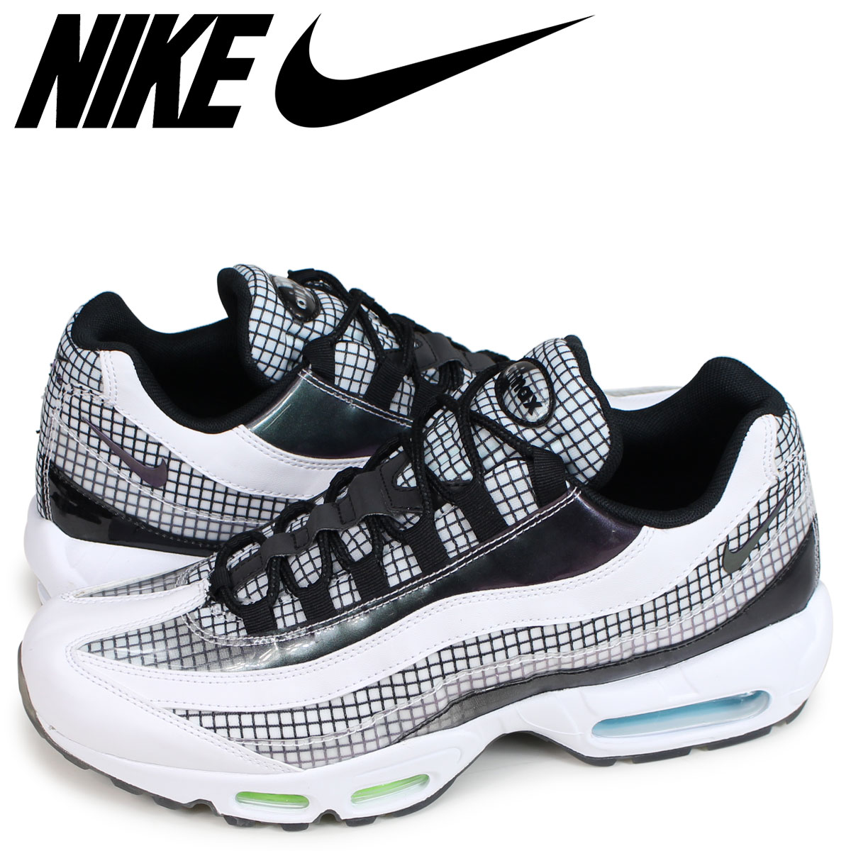 sports shoes c3962 84a6b NIKE AIR MAX 95 LV8 Kie Ney AMAX 95 sneakers men white AO2450-100