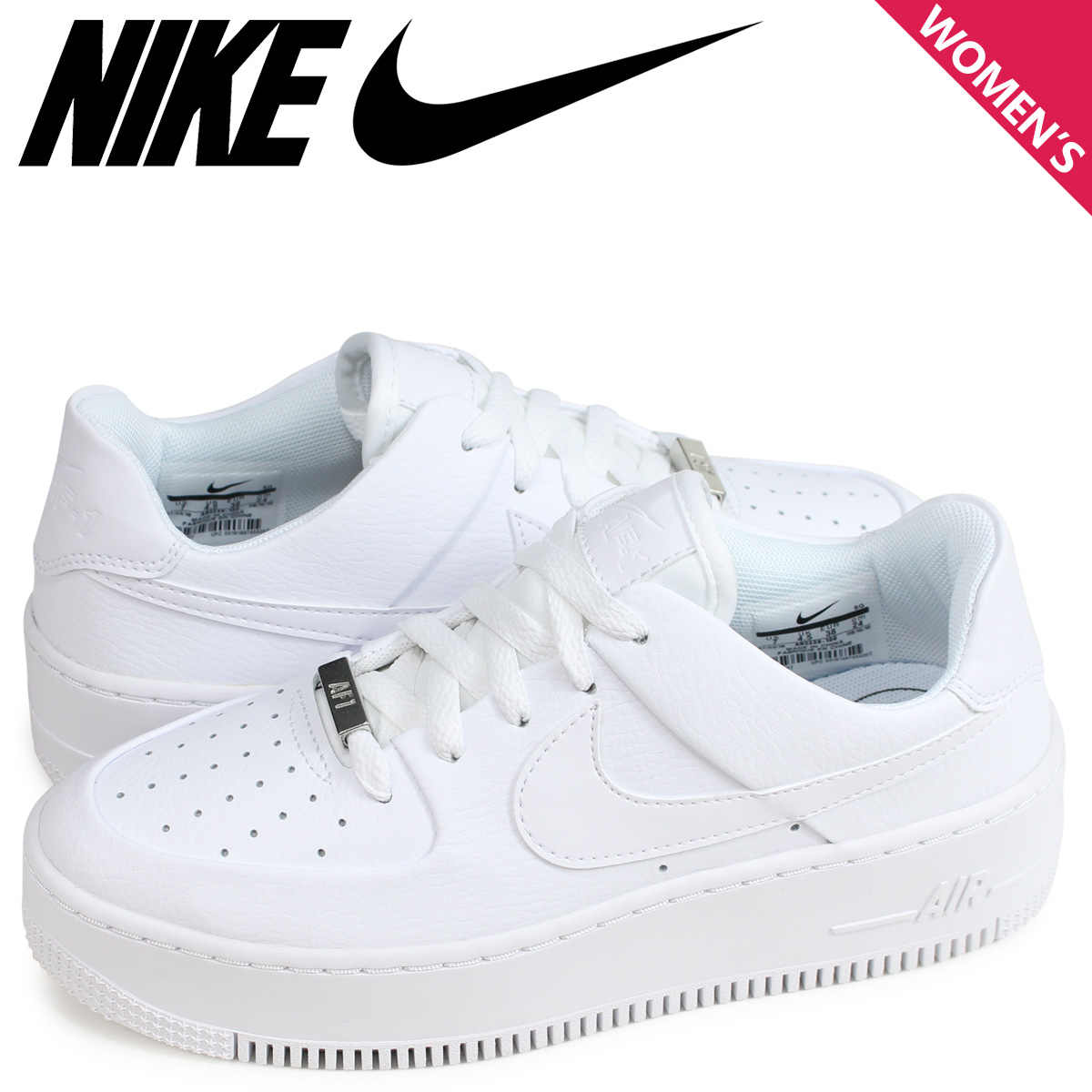 newest collection a2d87 a62f7 NIKE WMNS AIR FORCE 1 SAGE LOW AF1 Nike air force 1 sneakers Lady's beige  AR5339-201