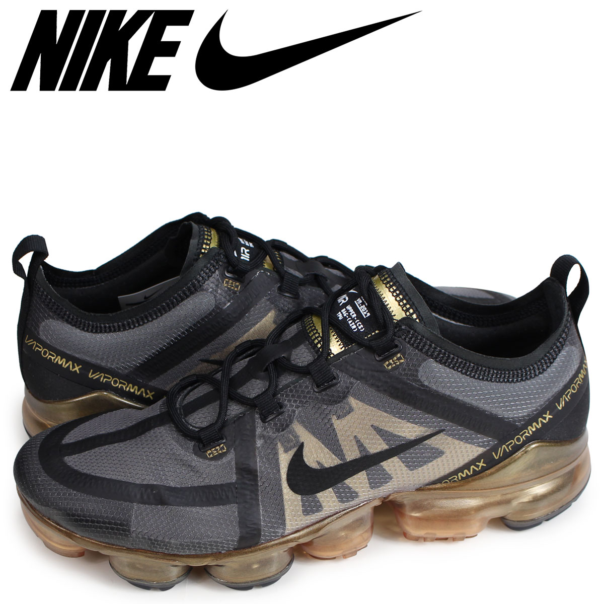 pretty nice 2c131 d37a4 NIKE AIR VAPORMAX 2019 Nike air vapor max 2019 sneakers men black AR6631-002