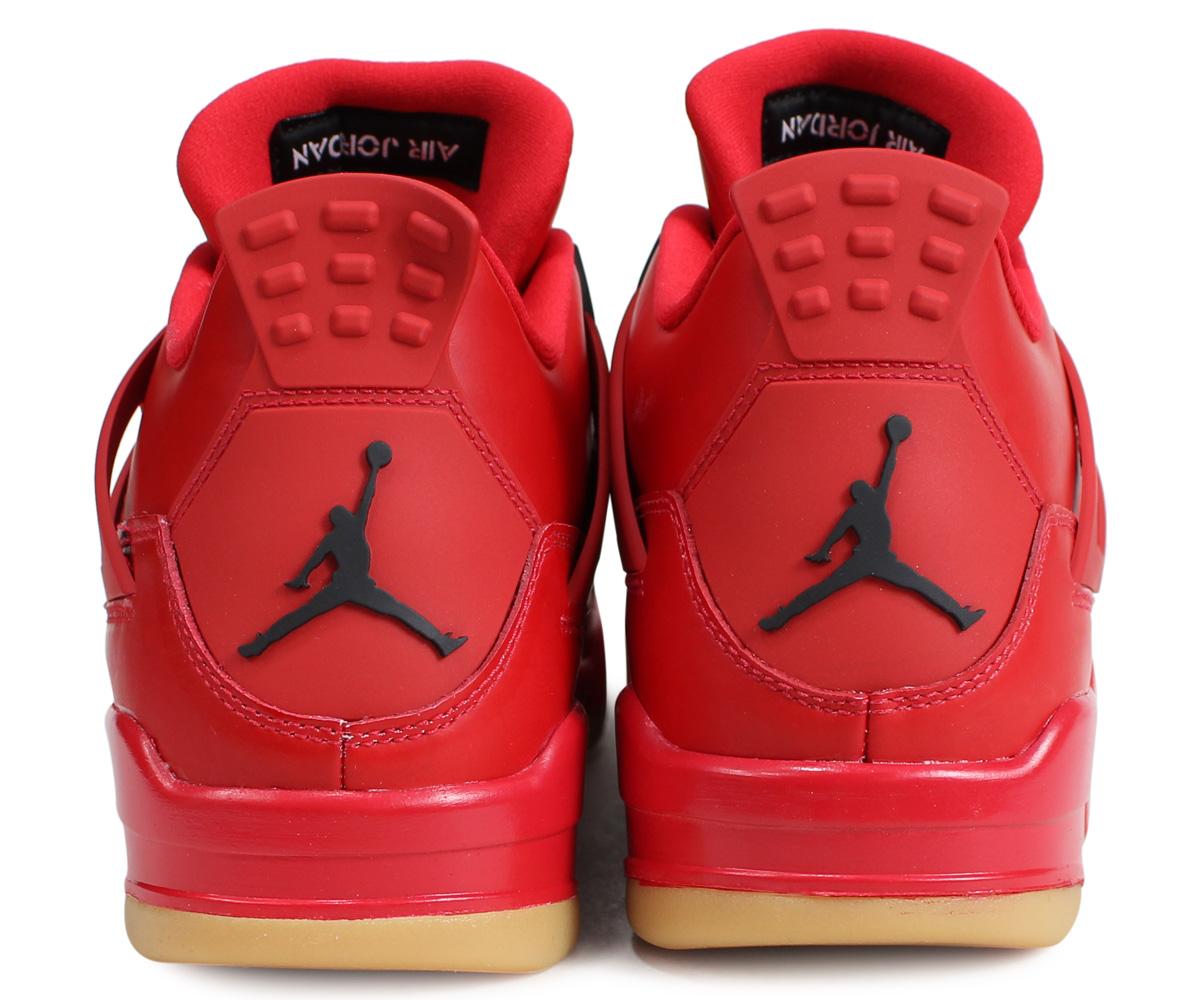 362a86230d5 NIKE WMNS AIR JORDAN 4 RETRO NRG SINGLES DAY Nike Air Jordan 4 nostalgic  sneakers Lady s men red AV3914-600  load planned Shinnyu load in  reservation ...