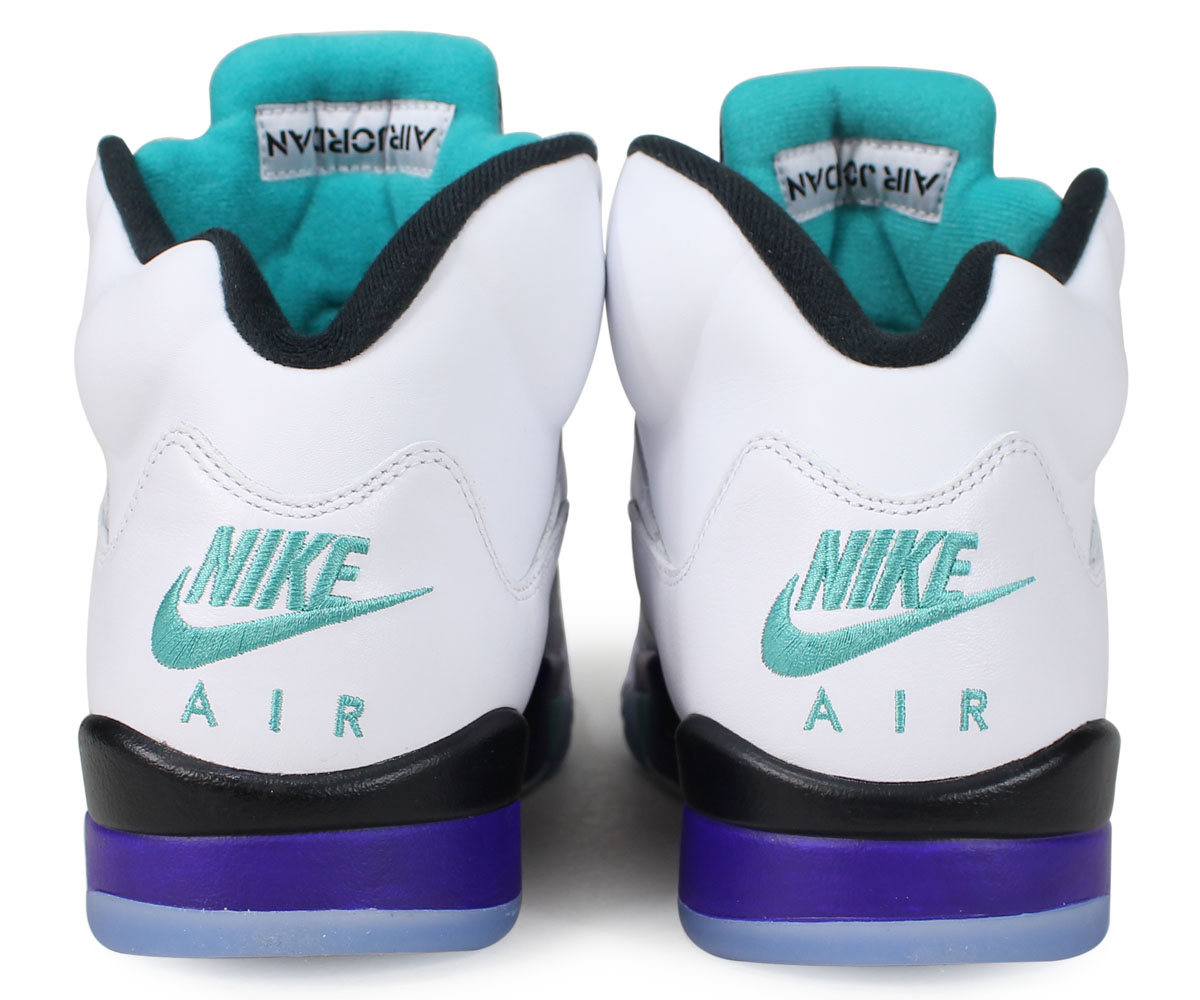1fba9feaad57 NIKE AIR JORDAN 5 RETRO NRG FRESH PRINCE Nike Air Jordan 5 nostalgic  sneakers men grape AV3919-135