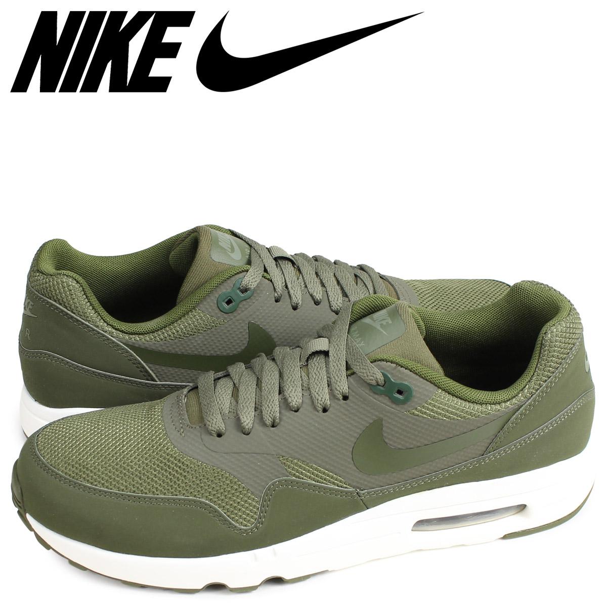 875679 200 Nike Air Max 1 Ultra 2.0 Essential Medium Olivelegion Green sail