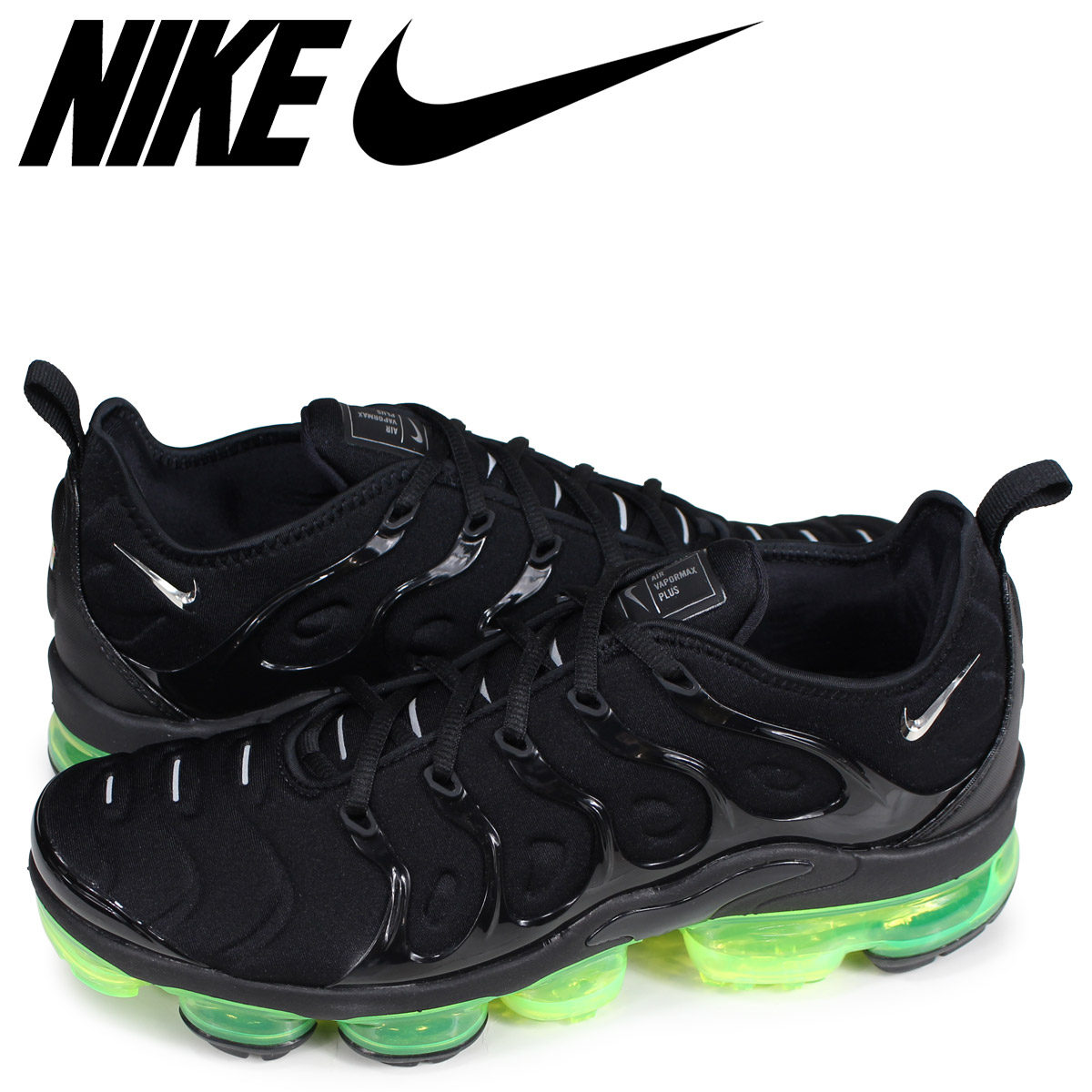504e8a28e8d99 NIKE AIR VAPORMAX PLUS Nike vapor max plus sneakers men gap Dis black  924