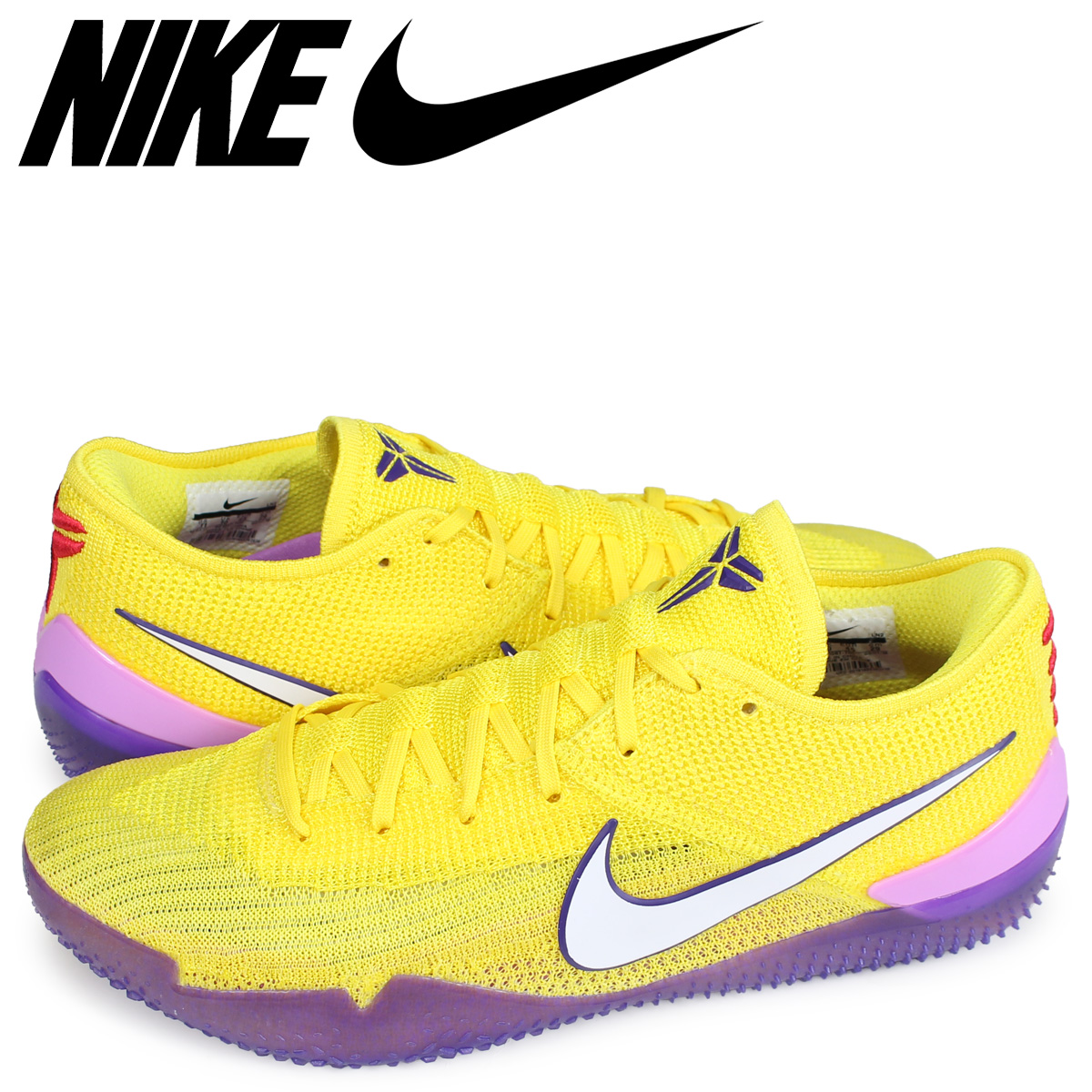 【最大2000円OFFクーポン】 NIKE KOBE NXT 360 Lakers ナイキ コービー スニーカー メンズ イエロー AQ1087-700 [2/21 新入荷]