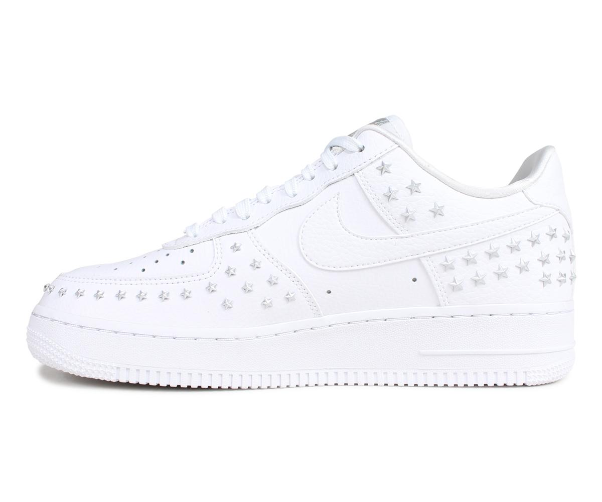 half off 28816 ef51c NIKE WMNS AIR FORCE 1 07 XX Nike air force 1 sneakers men white white AR0639 -100  4 3 Shinnyu load