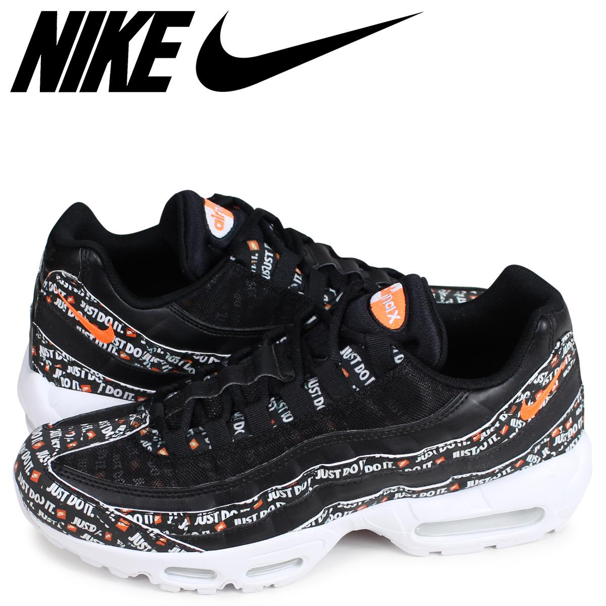 size 40 6c9fa 976d8 NIKE AIR MAX 95 SE JUST DO IT Kie Ney AMAX 95 sneakers men black black  AV6246-001