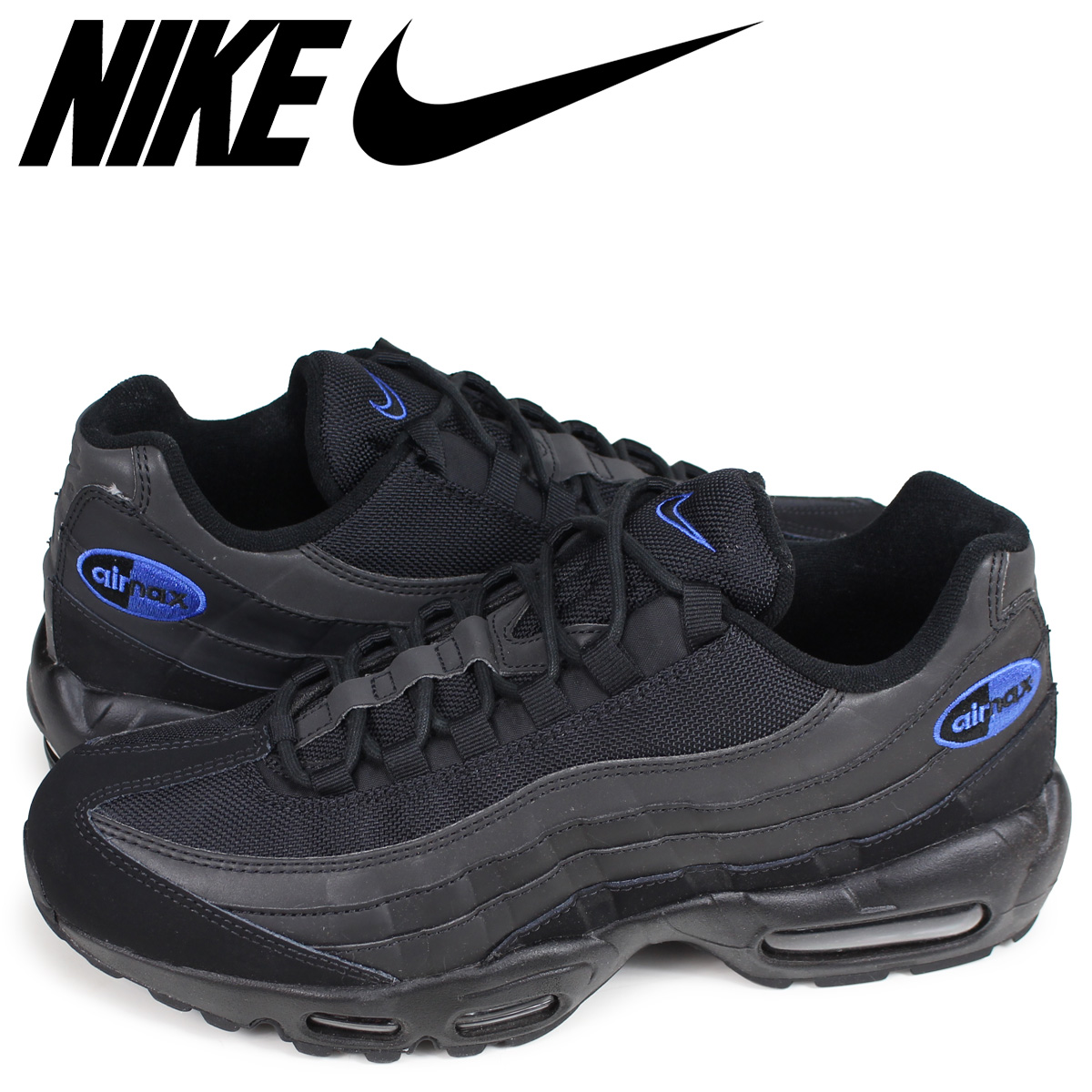 NIKE AIR MAX 95 PREMIUM SE Kie Ney AMAX 95 sneakers men black black BQ3168 002