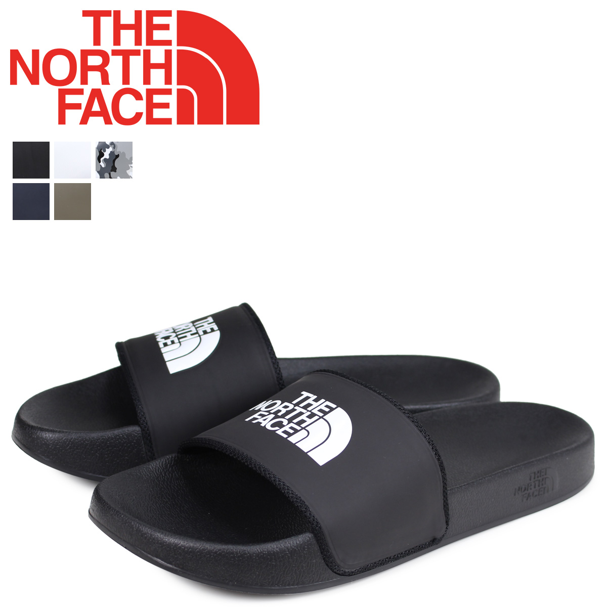 f935e3529 North Face THE NORTH FACE base camp sandals slide sandals men MENS BASE  CAMP SLIDE 2 NF0A3FWO