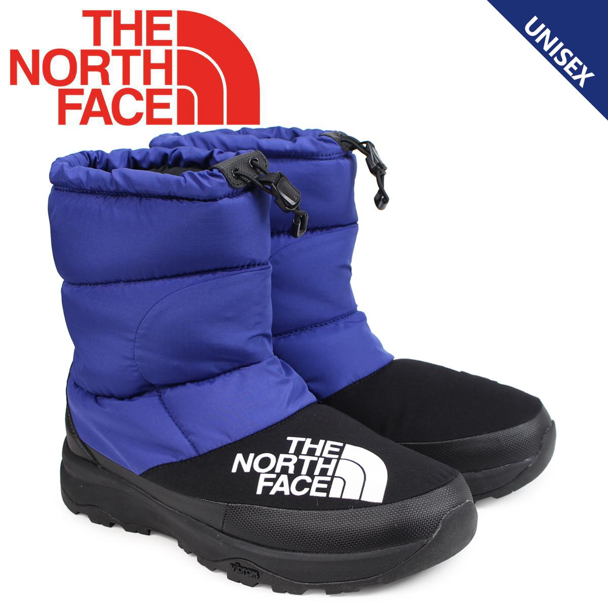 ノースフェイス THE NORTH FACE ヌプシ ダウンブーティ ブーツ メンズ レディース NUPTSE DOWN BOOTIE ブルー NF51877