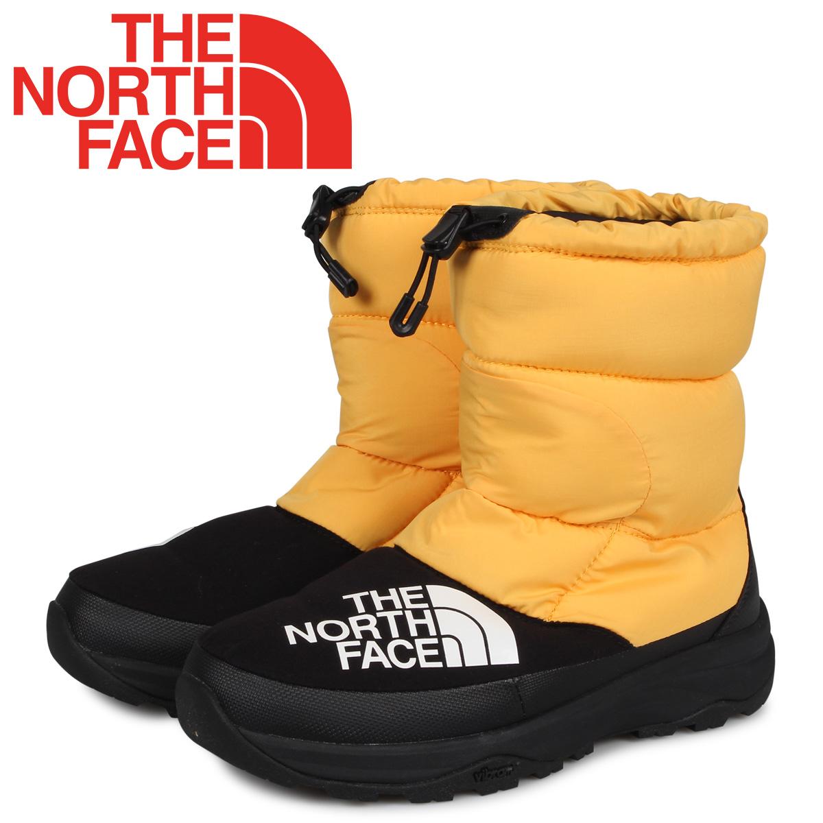ノースフェイス THE NORTH FACE ヌプシ ダウンブーティ ブーツ メンズ レディース NUPTSE DOWN BOOTIE イエロー NF51877