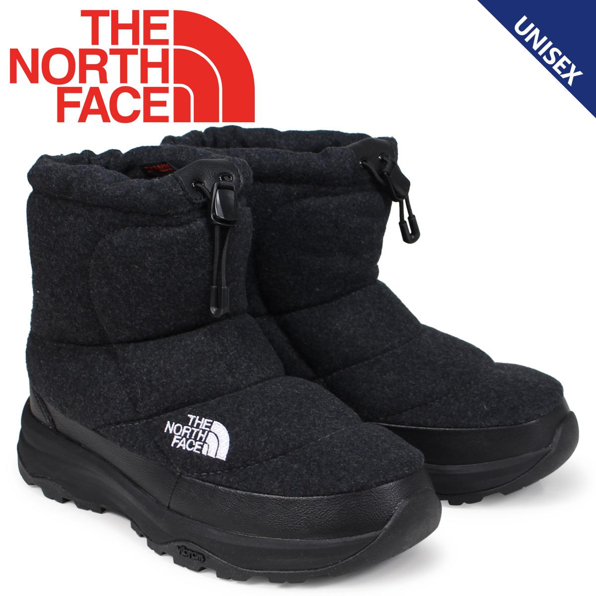 ノースフェイス THE NORTH FACE ヌプシブーティ ブーツ メンズ レディース NUPTSE BOOTIE WOOL IV SHORT チャコール NF51879 [9/21 新入荷]