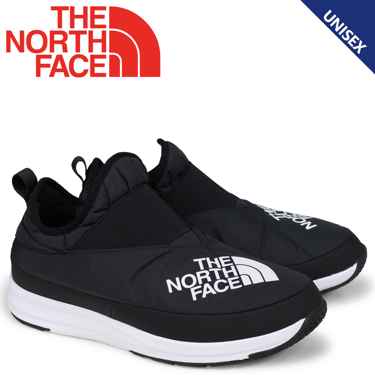 ノースフェイス THE NORTH FACE ヌプシ トランクション スニーカー シューズ メンズ レディース NUPTSE TRACTION LIGHT MOC 3 KIMONO ブラック NF51885 [9/21 新入荷]
