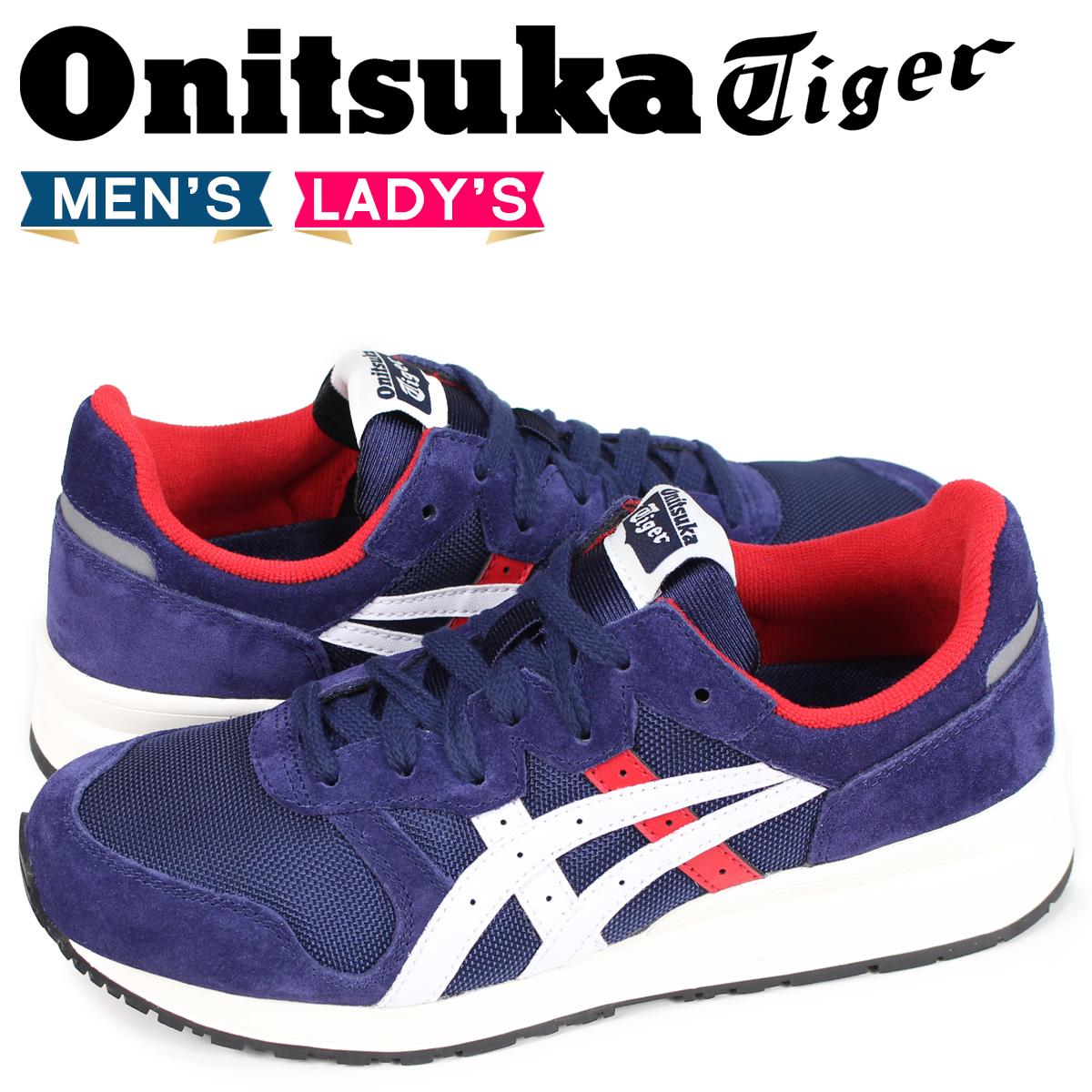 オニツカタイガー タイガー アリー Onitsuka Tiger TIGER ALLY メンズ レディース スニーカー 1183A029-400 ネイビー [8/2 新入荷]