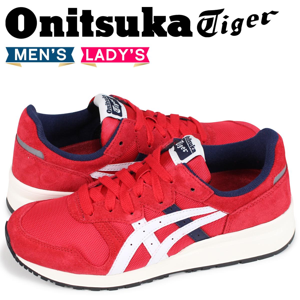 オニツカタイガー タイガー アリー Onitsuka Tiger TIGER ALLY メンズ レディース スニーカー 1183A029-600 レッド