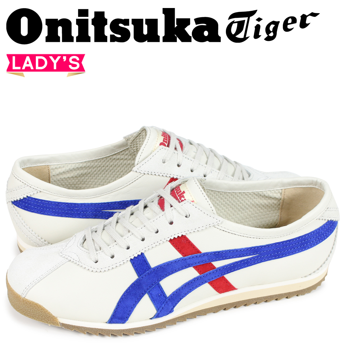 オニツカタイガー リンバー 66 Onitsuka Tiger LIMBER 66 PRESTIGE レディース スニーカー OT6000-9942 オフホワイト