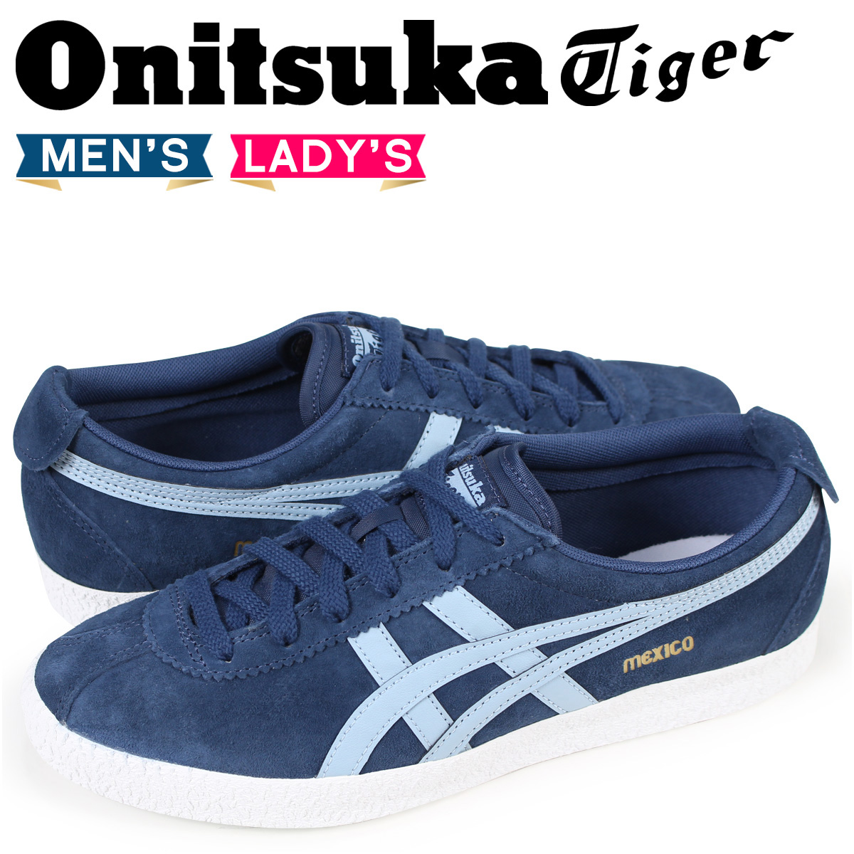 save off 9f1db 8604c Onitsuka tiger Onitsuka Tiger Mexico MEXICO DELEGATION men gap Dis sneakers  D6E7L-4944 blue