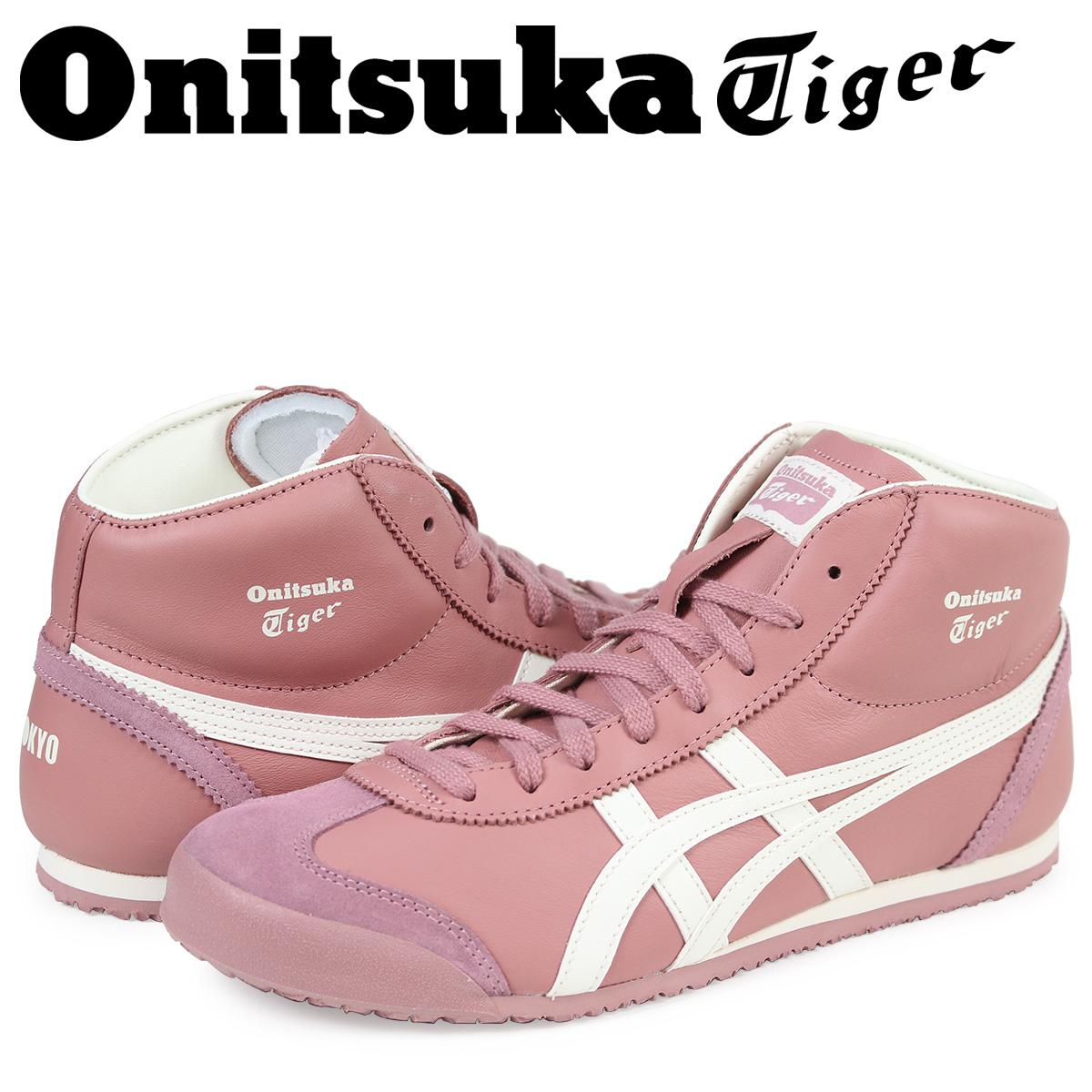 オニツカタイガー メキシコ ミッド ランナー Onitsuka Tiger MEXICO MID RUNNER メンズ スニーカー DL328-2400 THL328-2400 ピンク