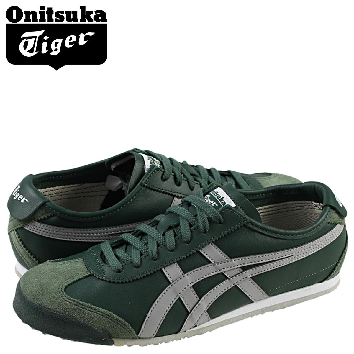new style 8ec07 e1554 Onitsuka tiger Onitsuka Tiger Mexico 66 asics sneakers men gap Dis MEXICO  66 TH4J2L-8013 green