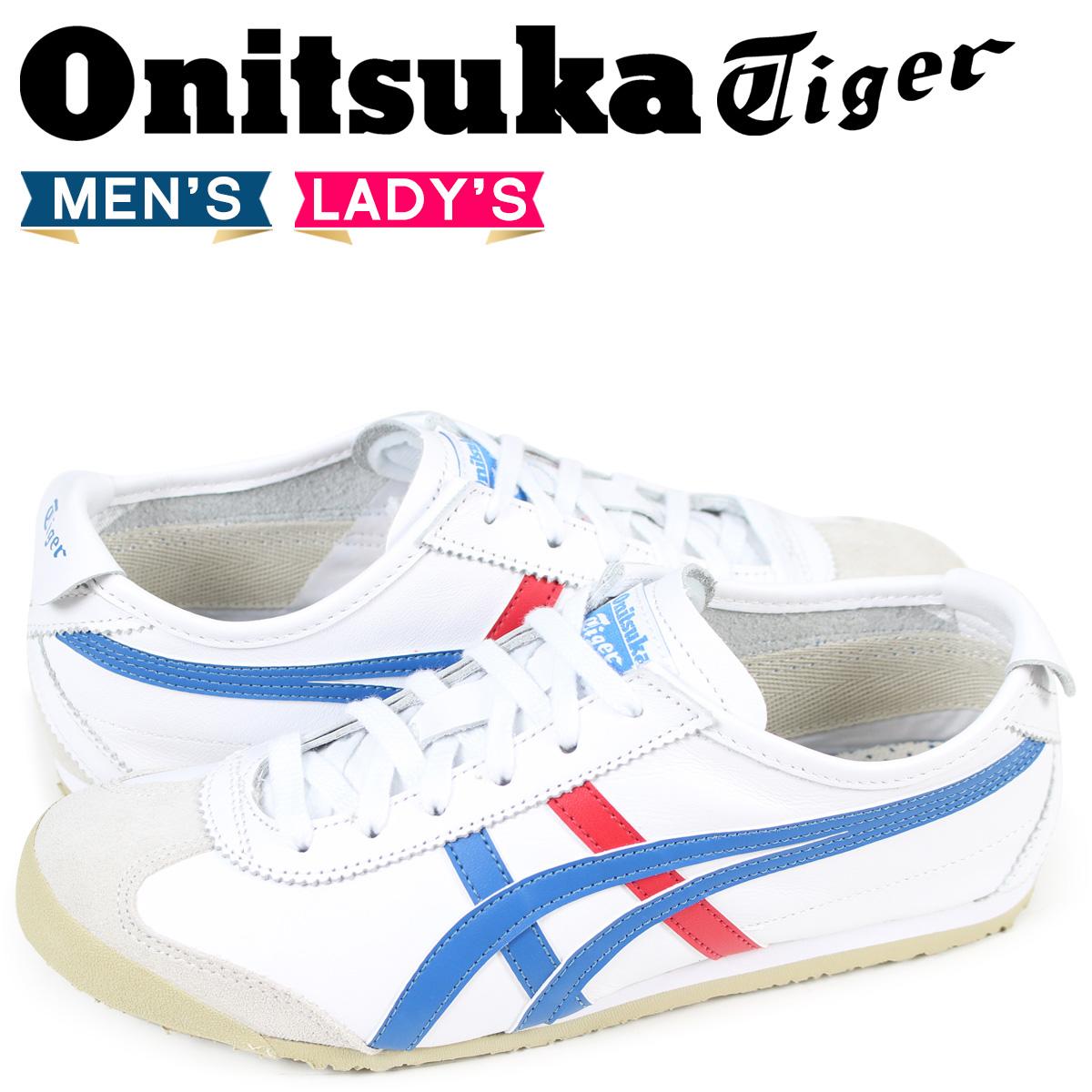 Onitsuka Tiger MEXICO 66 オニツカタイガー メキシコ 66 スニーカー メンズ レディース ホワイト 白 DL202-0146 THL202-0146 DL408-0146 [3/2 追加入荷]