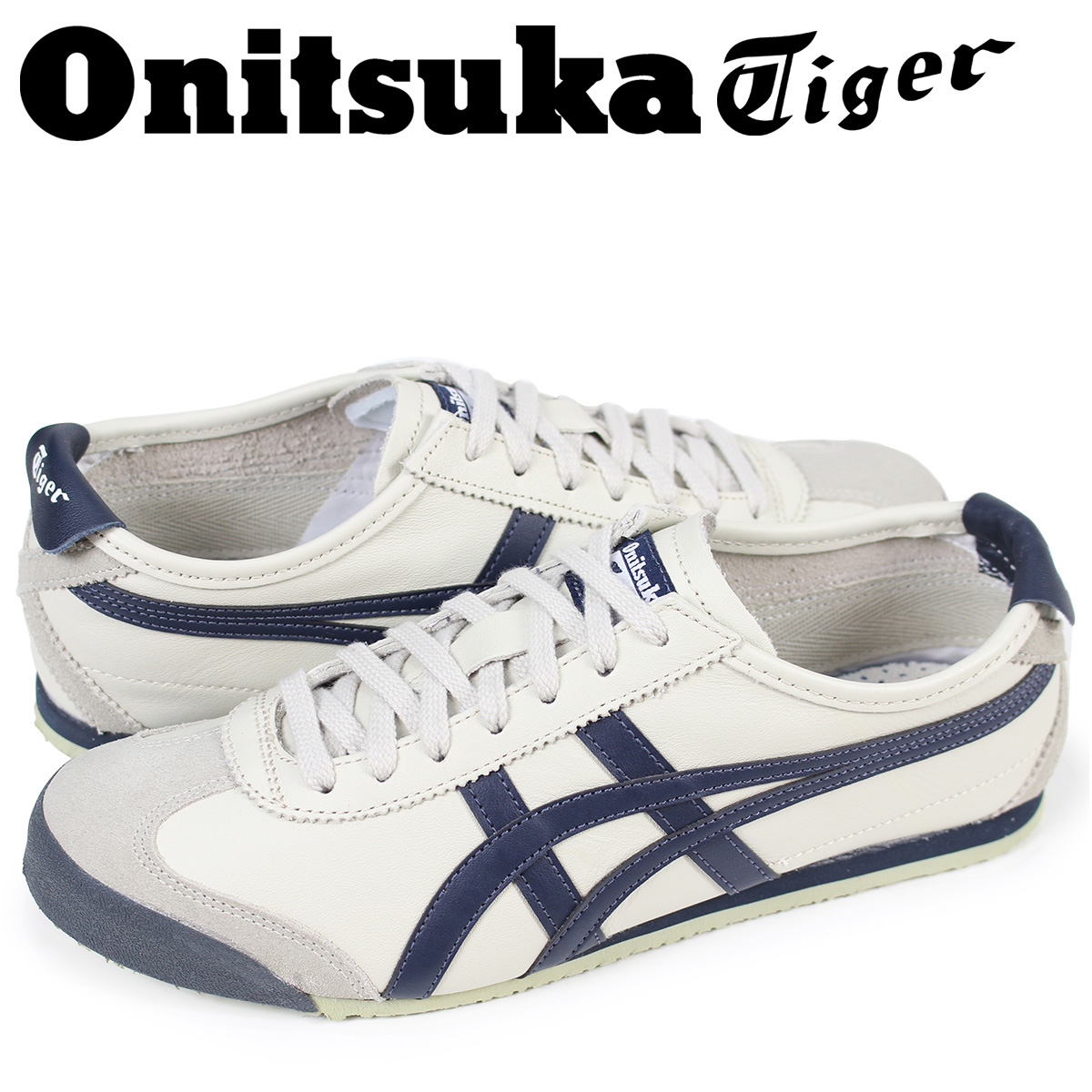 ASICS Onitsuka Tiger asics MEXICO 66 sneakers ONITSUKA Tiger Mexico 66  leather x suede mens Womens THL202-1659 Birch unisex regular