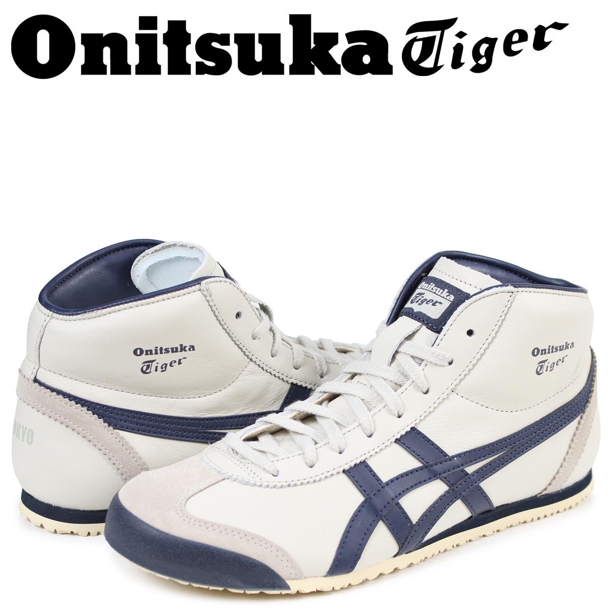 オニツカタイガー Onitsuka Tiger メキシコ スニーカー ミッド ランナー MEXICO MID RUNNER メンズ DL328-1659 THL328-1659 ホワイト [4/23 再入荷]