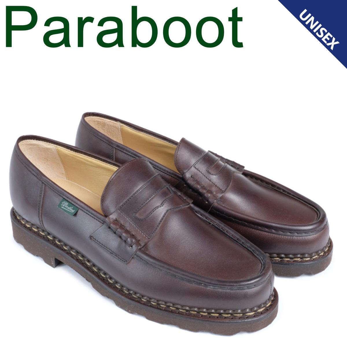 パラブーツ PARABOOT ランス シューズ ローファー メンズ レディース REIMS ブラウン 099413