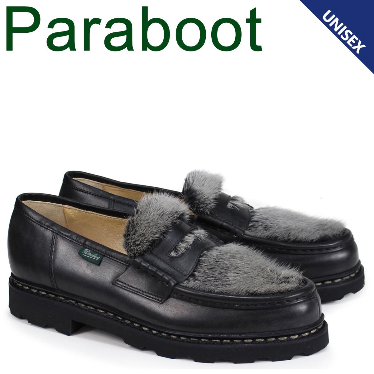 パラブーツ ランス PARABOOT REIMS シューズ ローファー 102985 メンズ ブラック