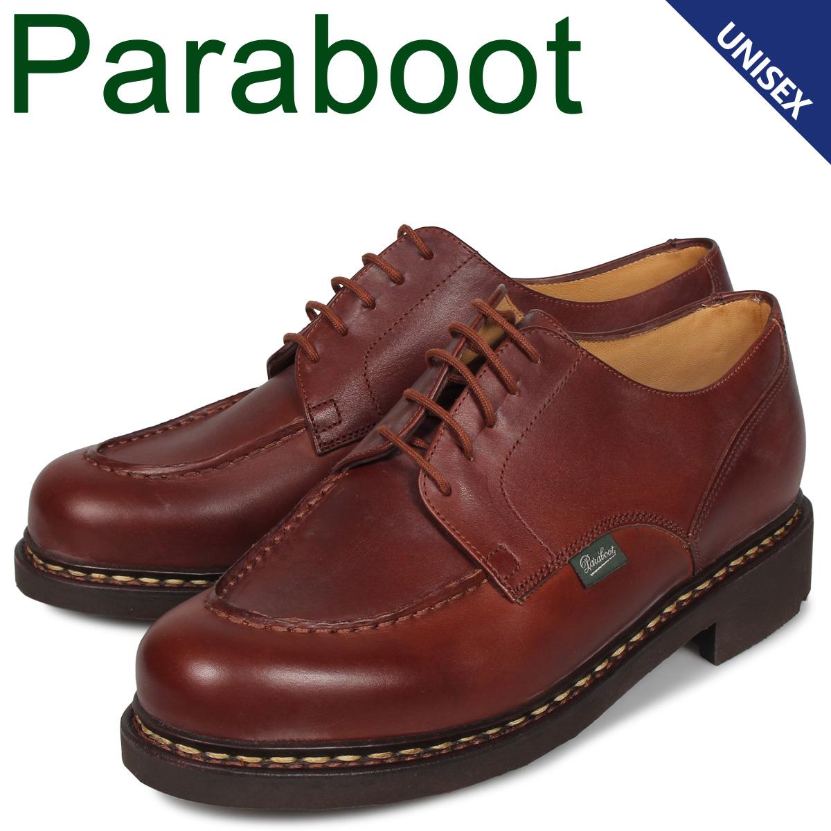 パラブーツ PARABOOT シャンボード シューズ ビジネスシューズ メンズ レディース CHAMBORD ブラウン 710708