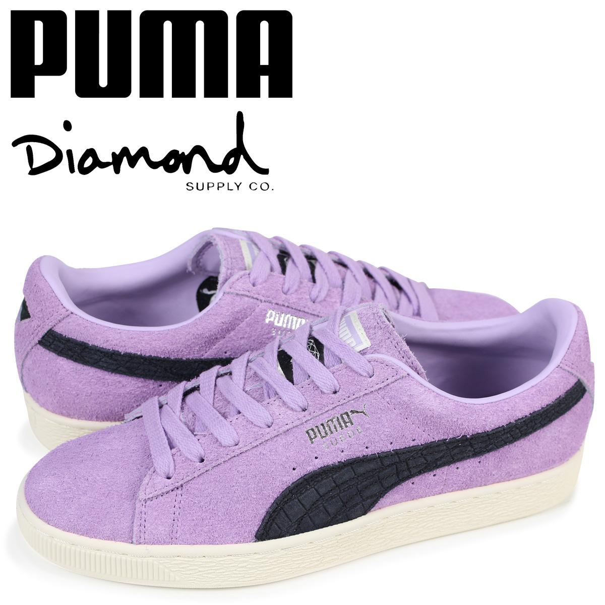 2019人気特価 プーマ PUMA パープル スエード スニーカー メンズ メンズ ダイヤモンドサプライ プーマ SUEDE DIAMOND コラボ 365650-02 パープル, フラメンコのイベリア:9193ccfd --- paulogalvao.com