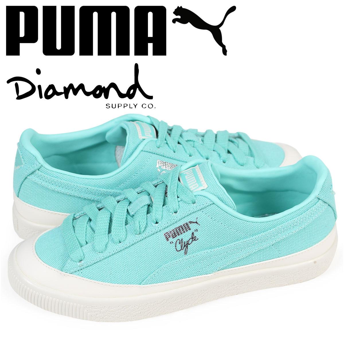 セットアップ プーマ PUMA クライド スニーカー メンズ ダイヤモンドサプライ クライド CLYDE ブルー CLYDE DIAMOND コラボ 365651-01 ブルー, mir's:387174b5 --- paulogalvao.com
