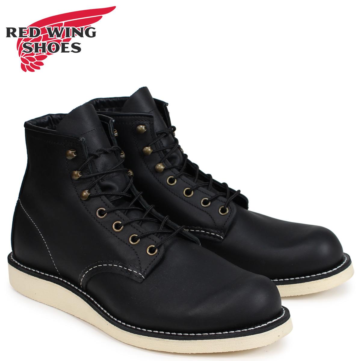 レッドウィング RED WING ブーツ ローバー メンズ HERITAGE ROVER BOOT Dワイズ ブラック 黒 2951