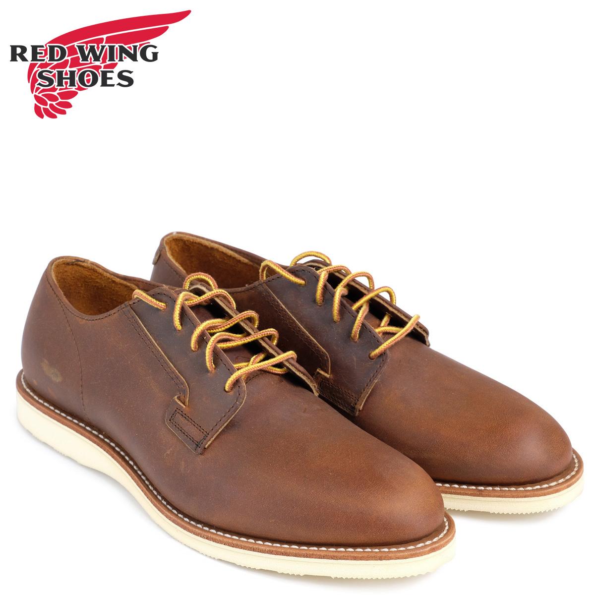 レッドウィング RED WING ブーツ ポストマン POSTMAN OXFORD Dワイズ 3118レッドウイング メンズ ブラウン