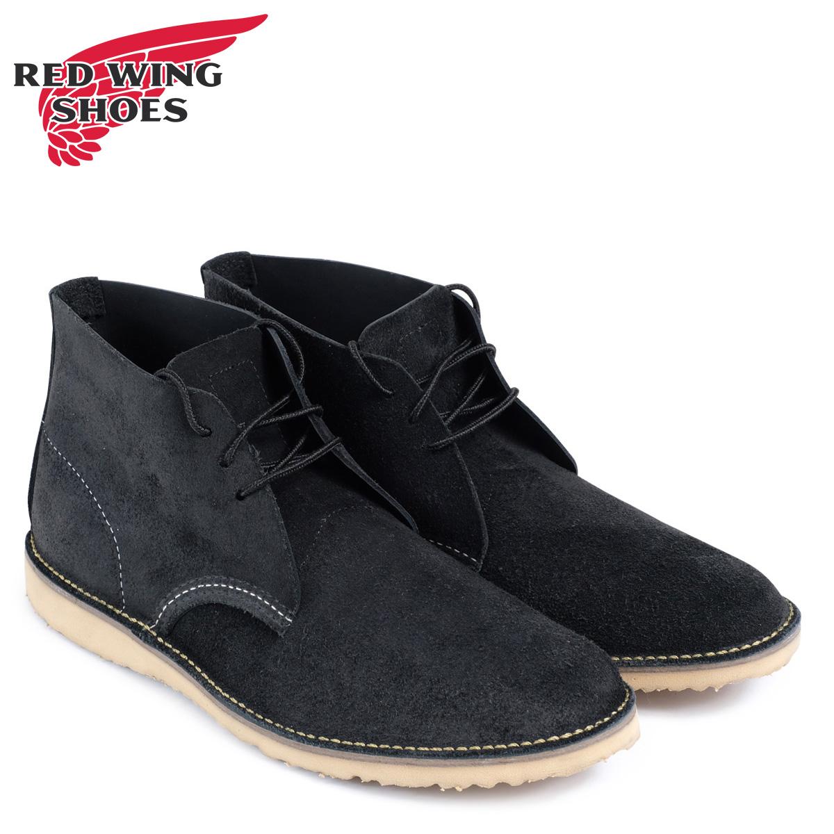 レッドウィング RED WING ブーツ チャッカブーツ メンズ WEEKENDER CHUKKA Dワイズ ブラック 黒 3323