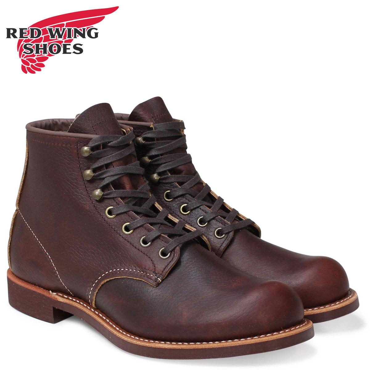 レッドウィング RED WING ブーツ ブラックスミス メンズ BLACKSMITH ROUND TOE Dワイズ ブラウン 3340