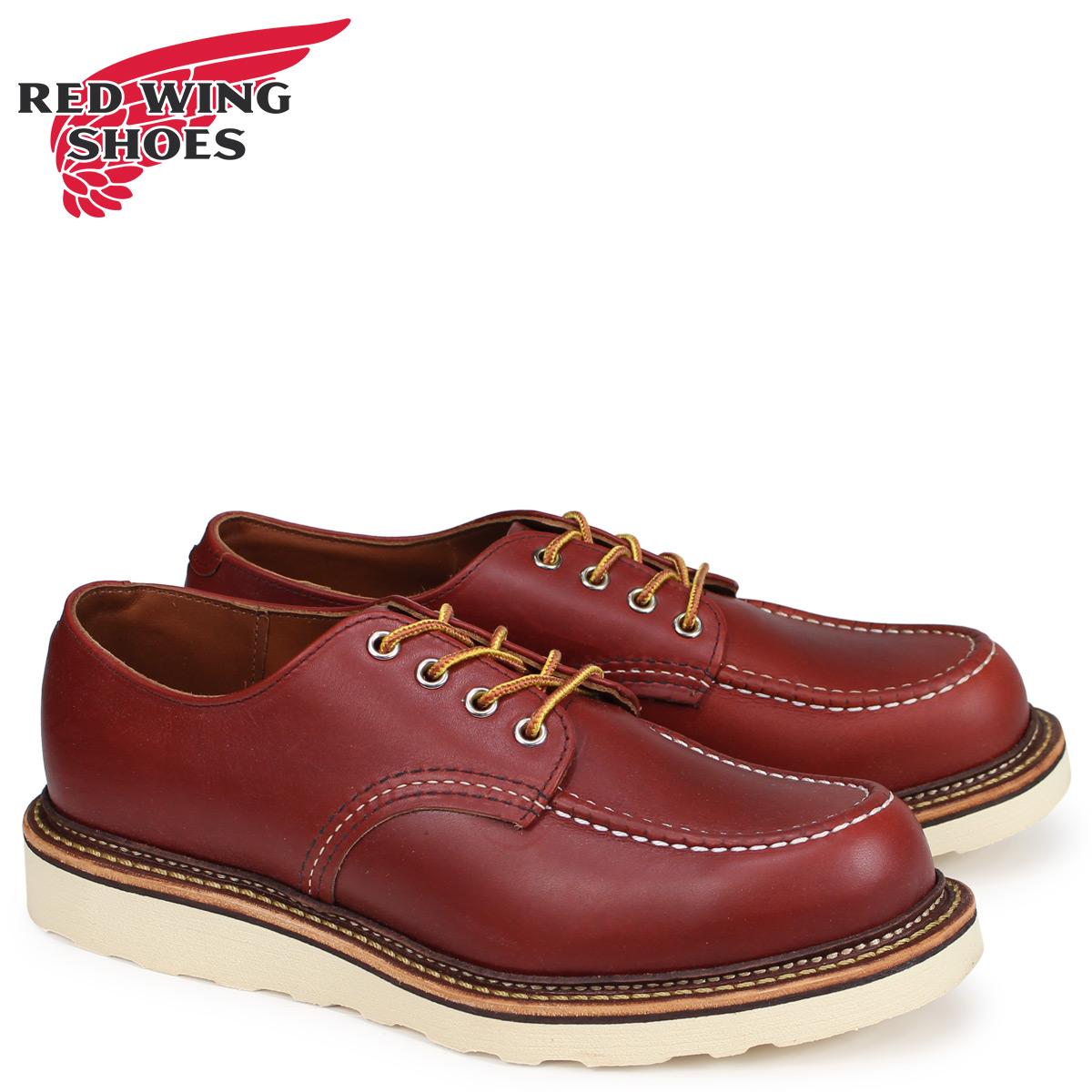 レッドウィング RED WING オックスフォード シューズ クラシック メンズ CLASSIC OXFORD Dワイズ ブラウン 8103