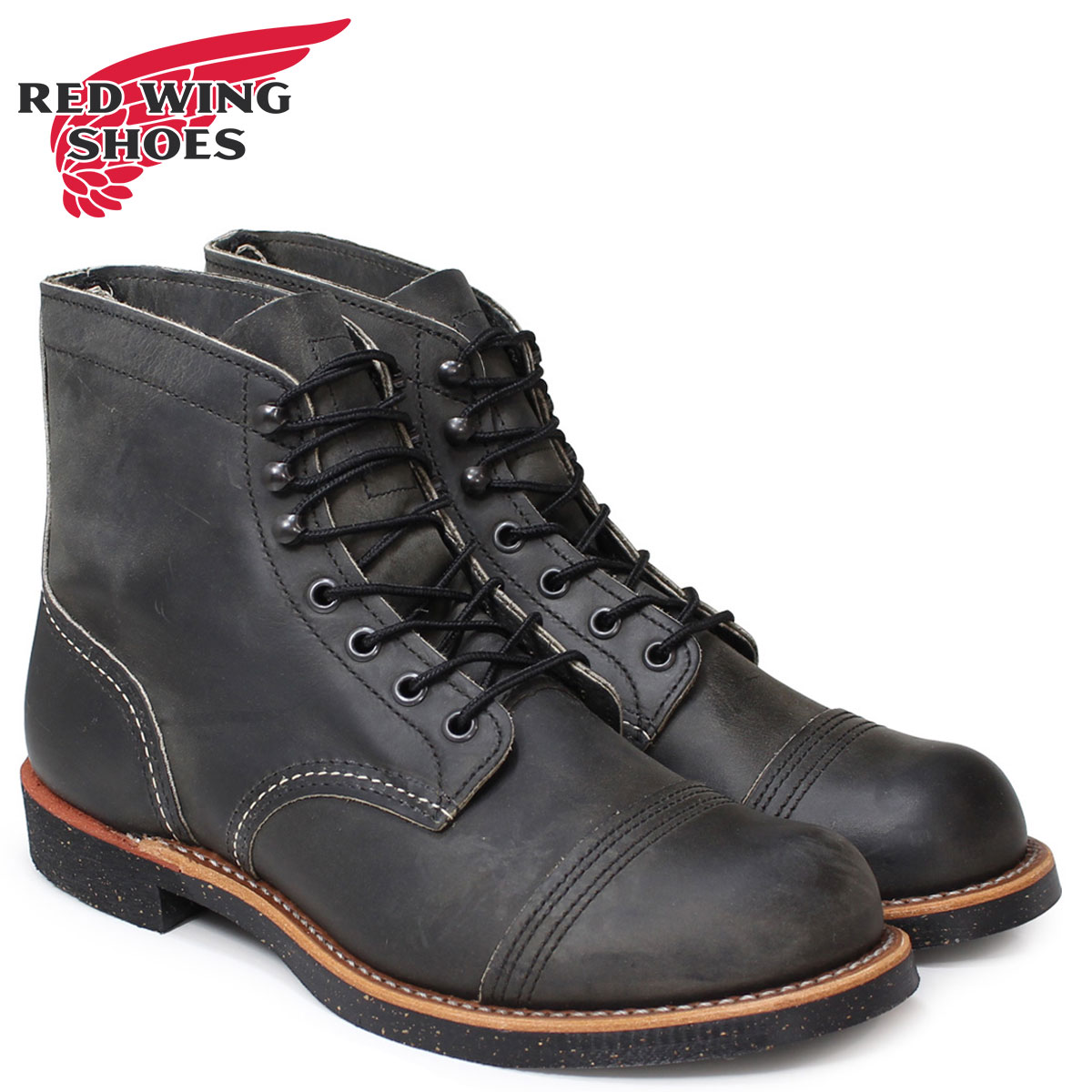 レッドウィング RED WING ブーツ ワークブーツ 6INCH IRON RANGER アイアンレンジャー Dワイズ 8116 8086 メンズ