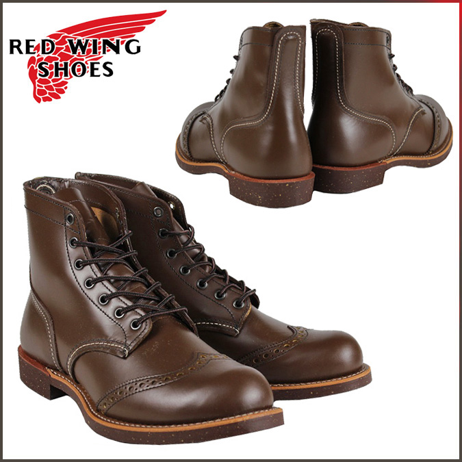 Redwing RED WING ブローグレイン the boots 8127 BROGUE RANGER BOOTS Chaparral leather mens Made in USA Red Wing