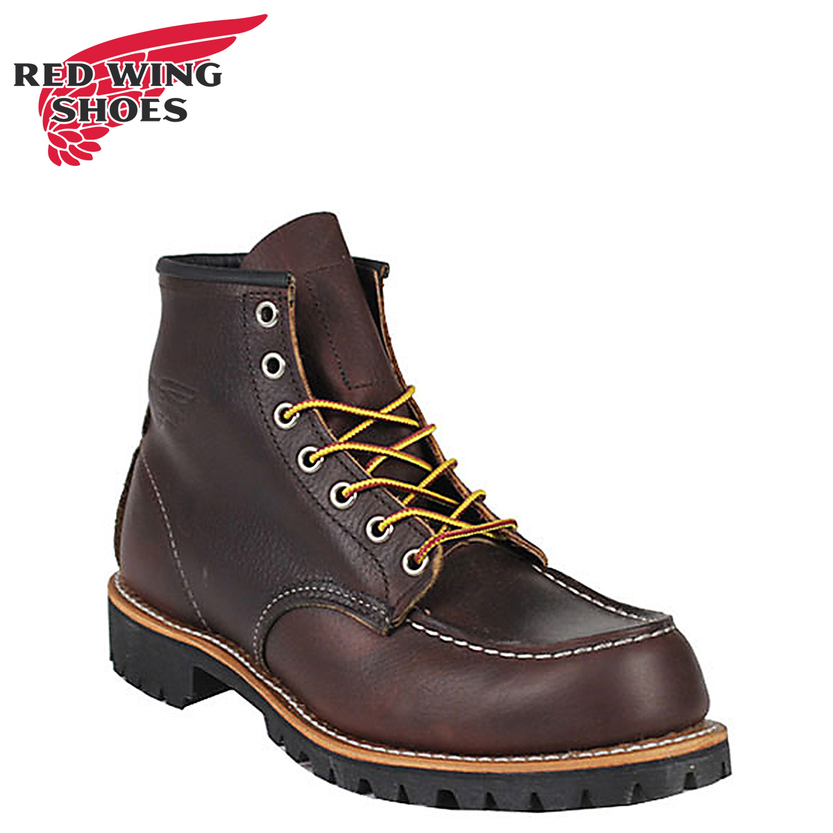 Redwing RED WING 6 inch MOC to boots 8146 6inch Moc Toe Boots D wise leather mens Made in USA Red Wing