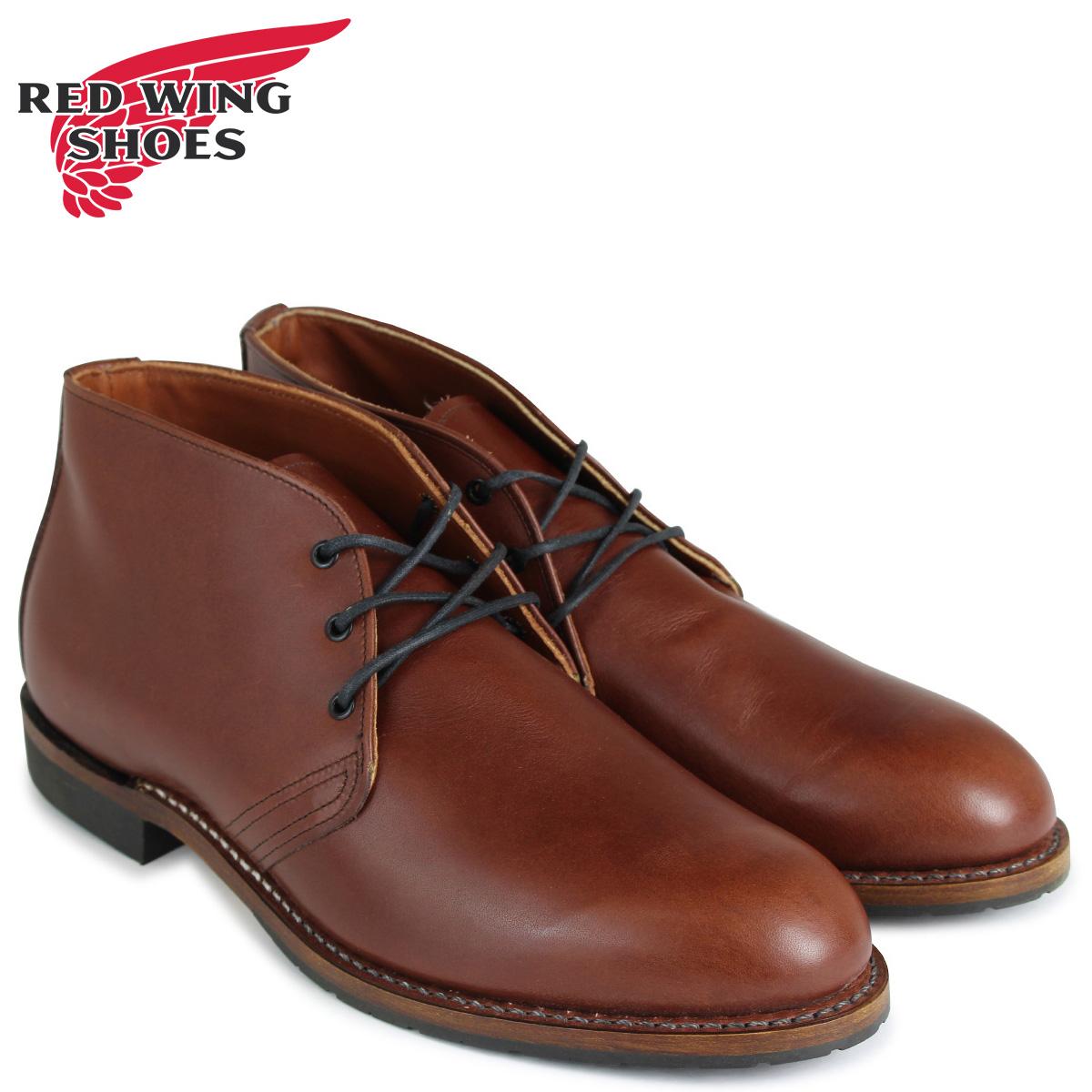 レッドウィング RED ブラウン WING ベックマン BECKMAN ブーツ メンズ BECKMAN CHUKKA 9048 メンズ ブラウン, エビノシ:e5b7ffa0 --- ww.thecollagist.com