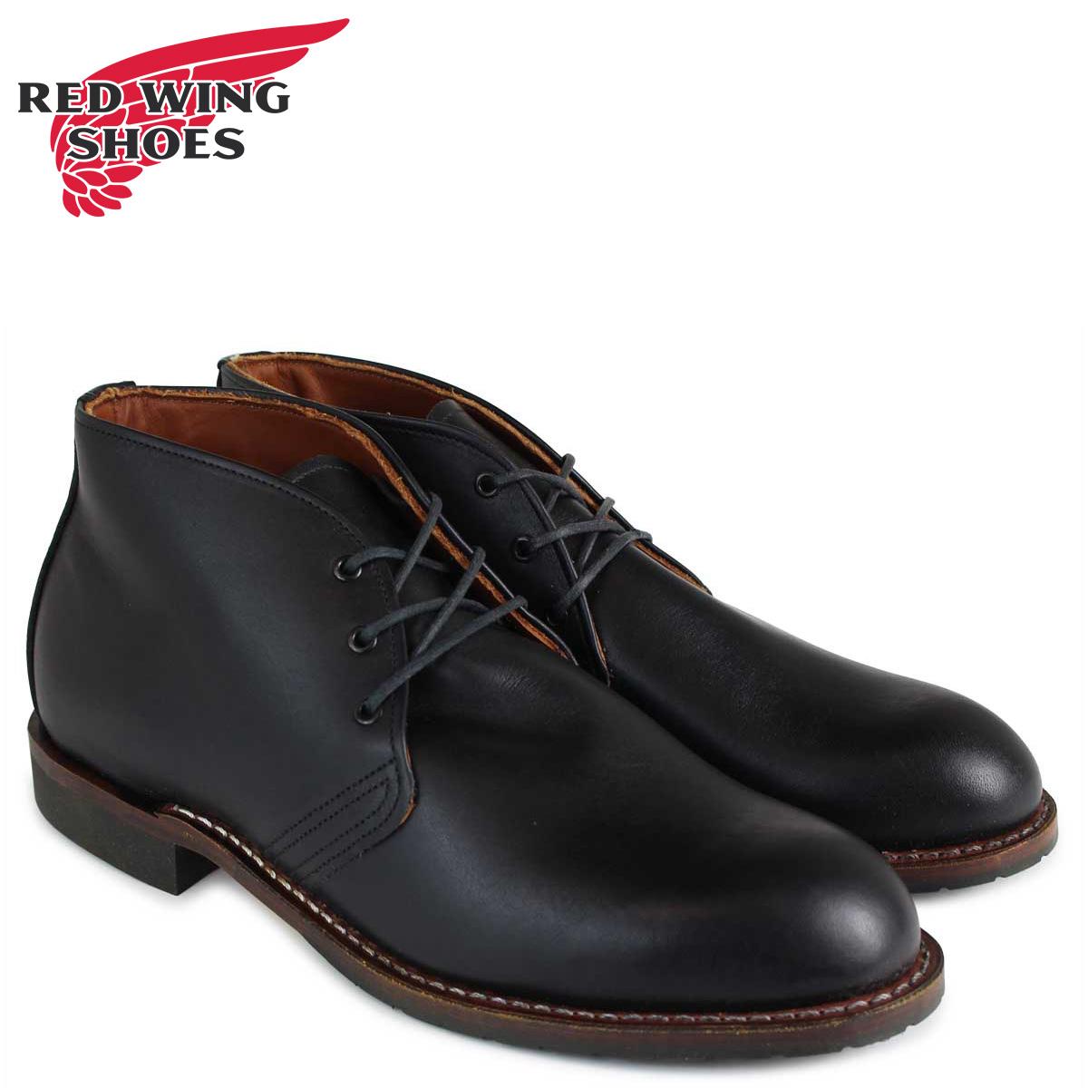 レッドウィング WING 9049 RED WING ベックマン ブーツ BECKMAN CHUKKA 9049 メンズ メンズ ブラック, AAA net Shop:3bc8efd7 --- ww.thecollagist.com
