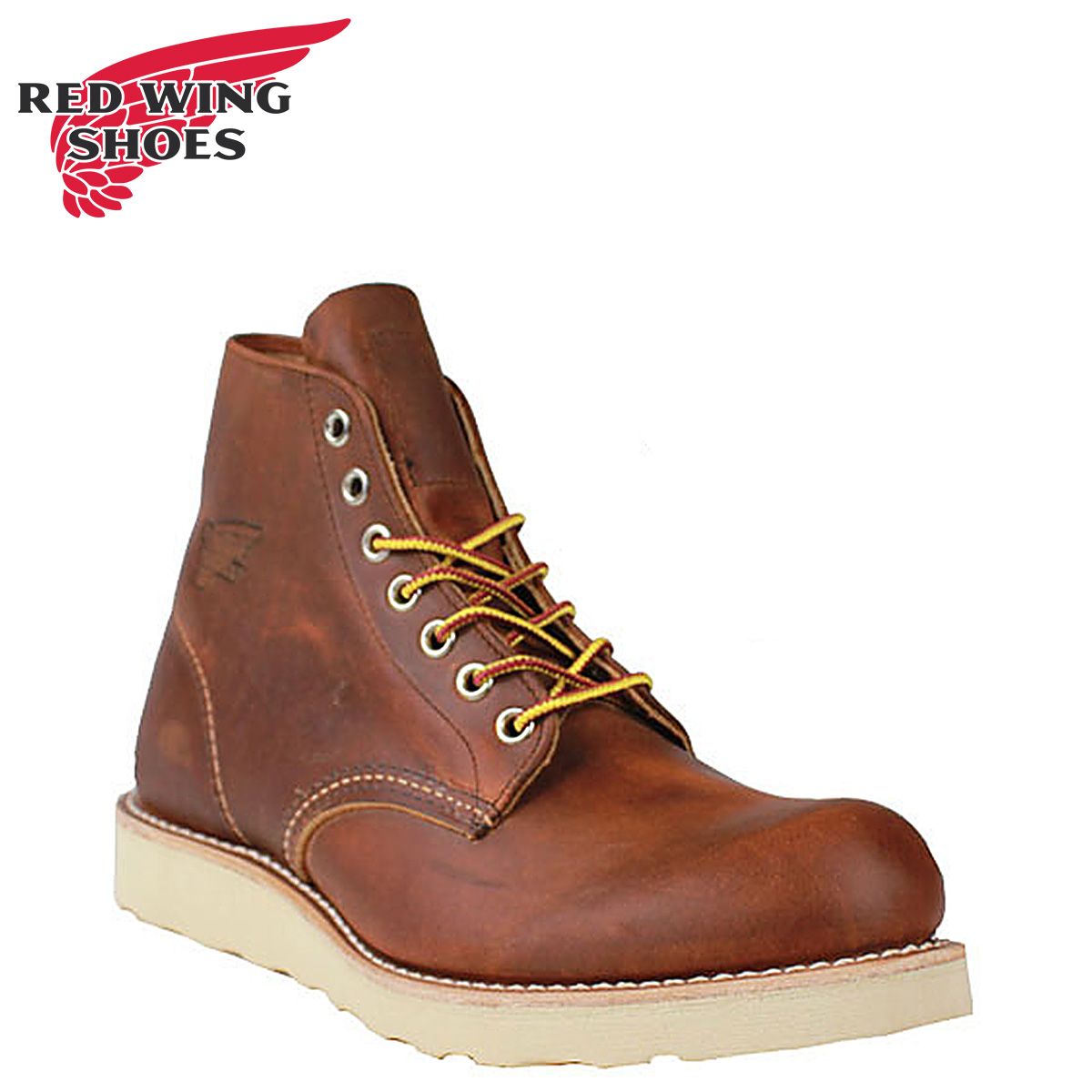 Redwing RED WING 6 inch classic round to boots 9111 6inch Classic Round Toe D wise mens Made in USA Red Wing