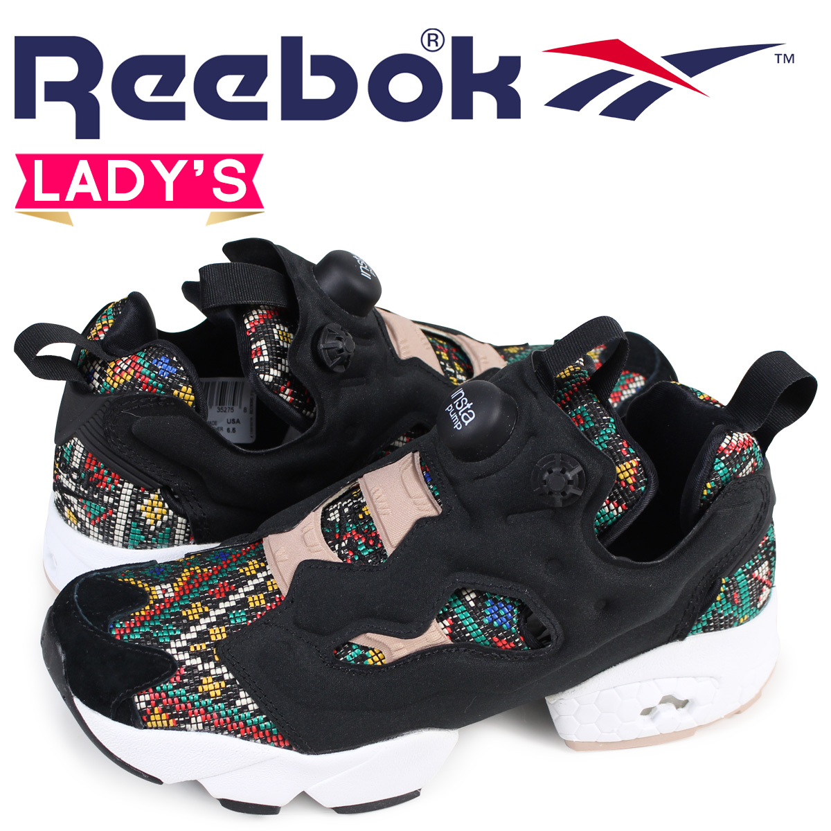 b393f2853d4 リーボックポンプフューリーレディーススニーカー Reebok INSTAPUMP FURY GT BD3095 black  load planned  Shinnyu load in reservation product 1 26 containing