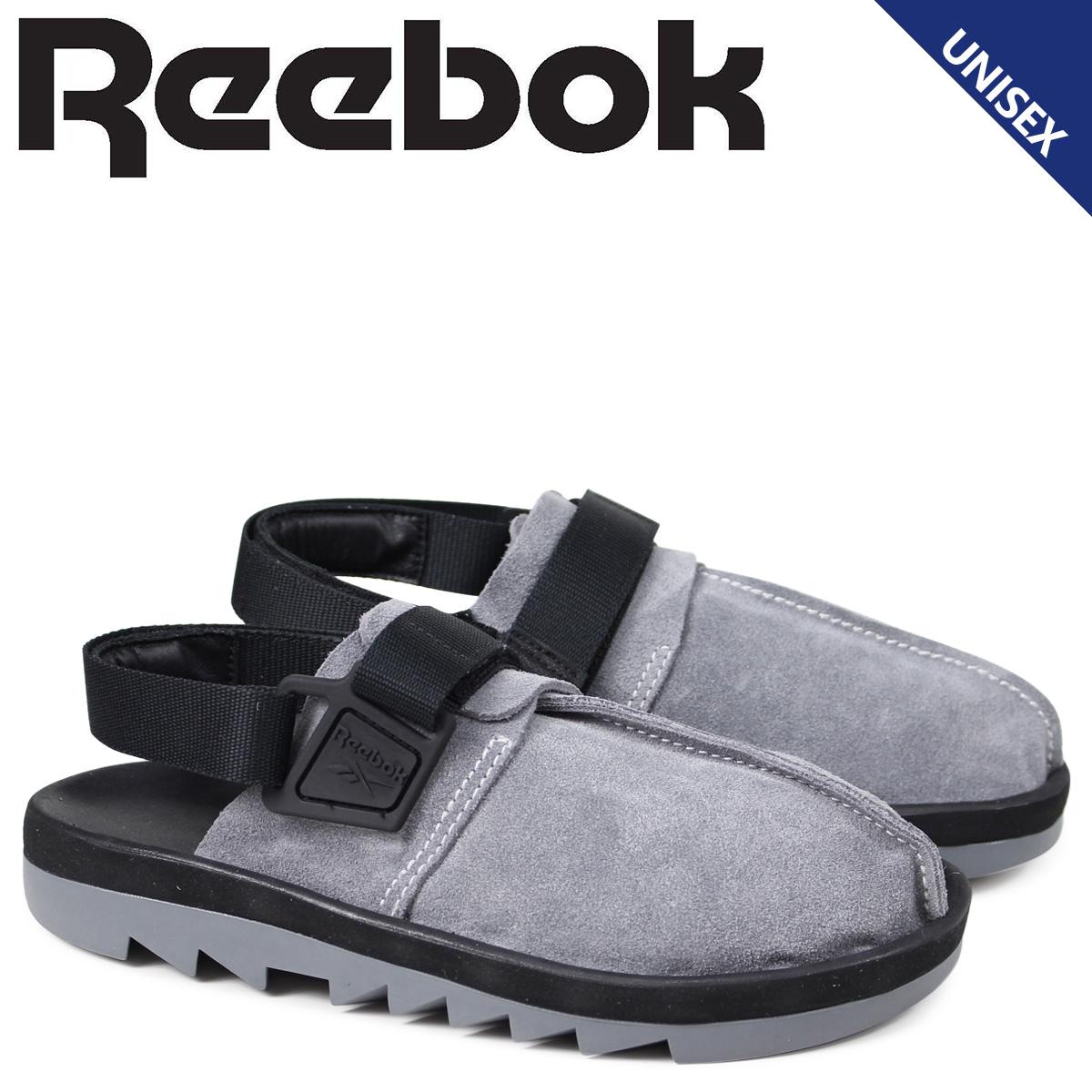リーボック Reebok ビートニック レディース メンズ サンダル BEATNIK CN3730 グレー
