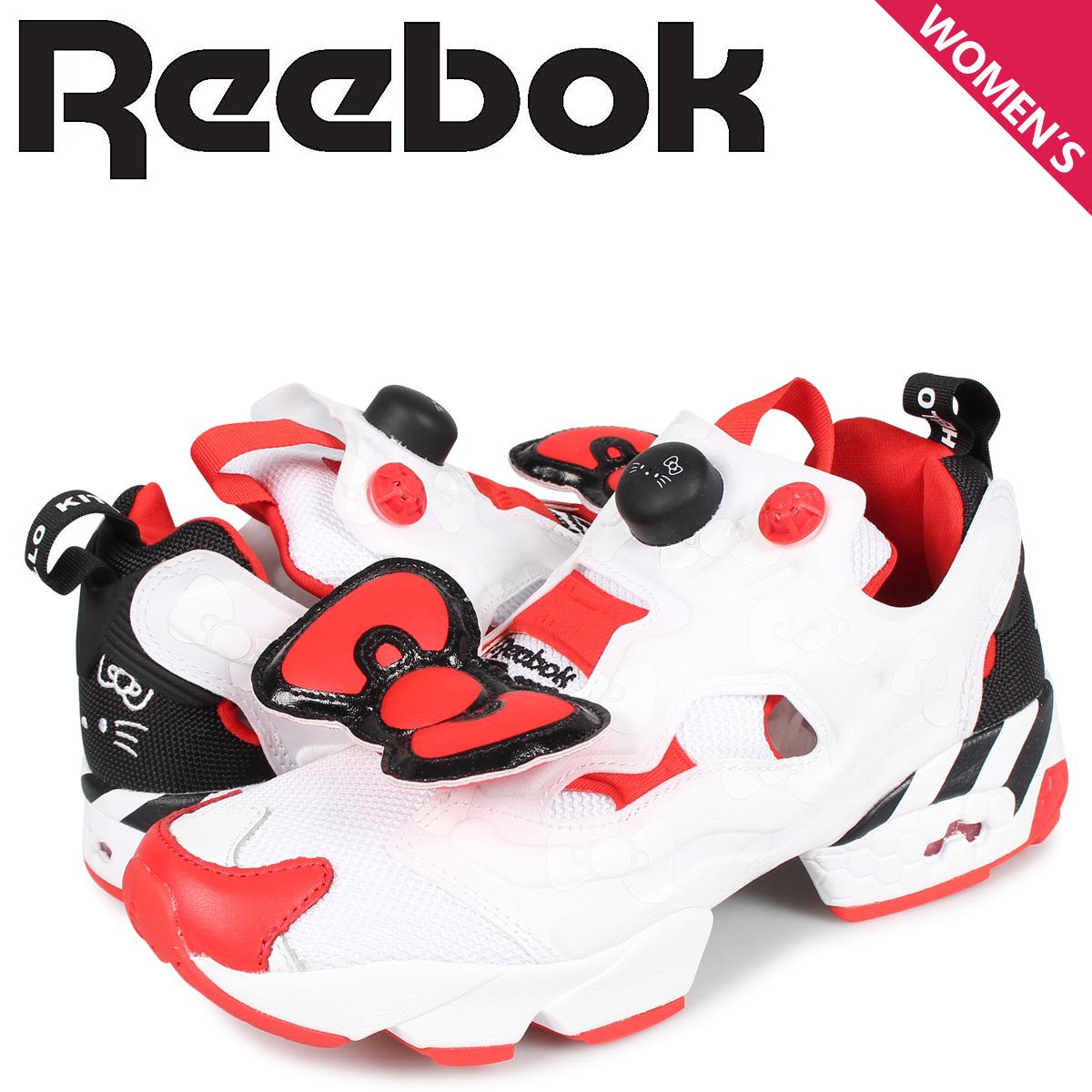 【お買い物マラソンSALE】 リーボック Reebok インスタ ポンプフューリー スニーカー レディース INSTAPUMP FURY OG ホワイト 白 EH2798