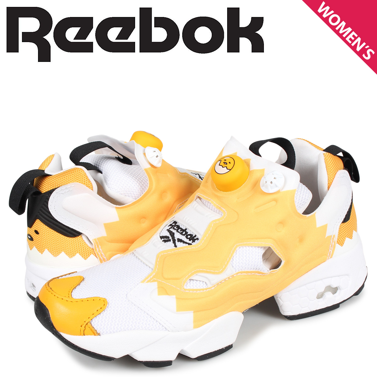 リーボック Reebok インスタ ポンプフューリー スニーカー レディース INSTAPUMP FURY OG ホワイト 白 EH2799