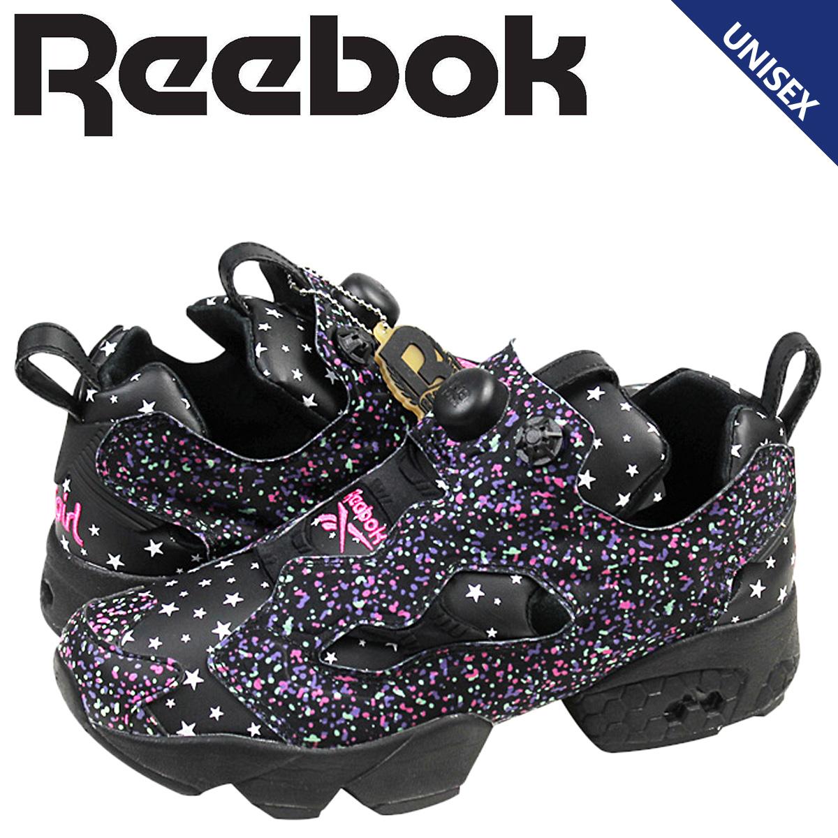 リーボック ポンプフューリー スニーカー Reebok x-girl INSTAPUMP FURY OG メンズ レディース 20周年 コラボ M43197 ブラック