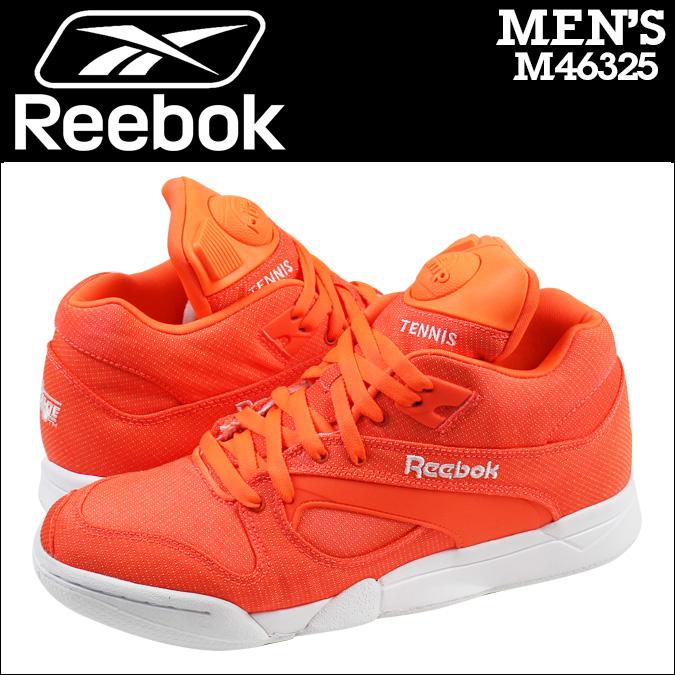 50710ff6b5758c ... Reebok Reebok COURT VICTORY PUMP TECH sneakers court victory pump tech  mesh men s M46325 Orange x Reebok Hexalite ...