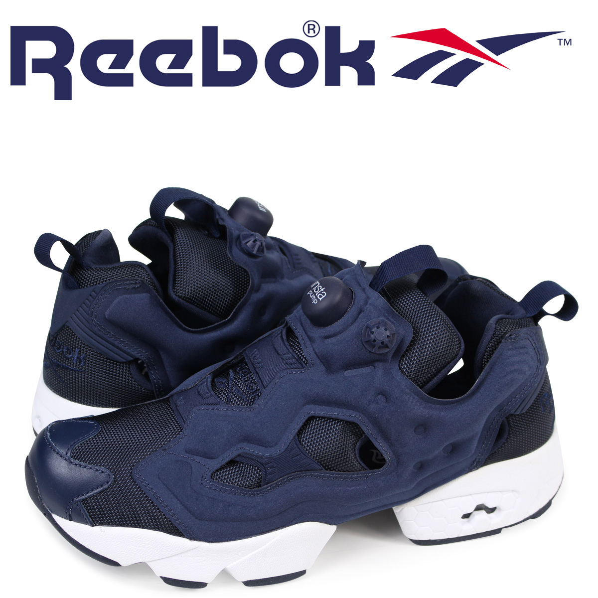 7d88d896dfd Reebok Reebok INSTA PUMP FURY OG sneaker insta pump fury original mesh  leather men s women s M48559 white black unisex  7   17 new stock   regular