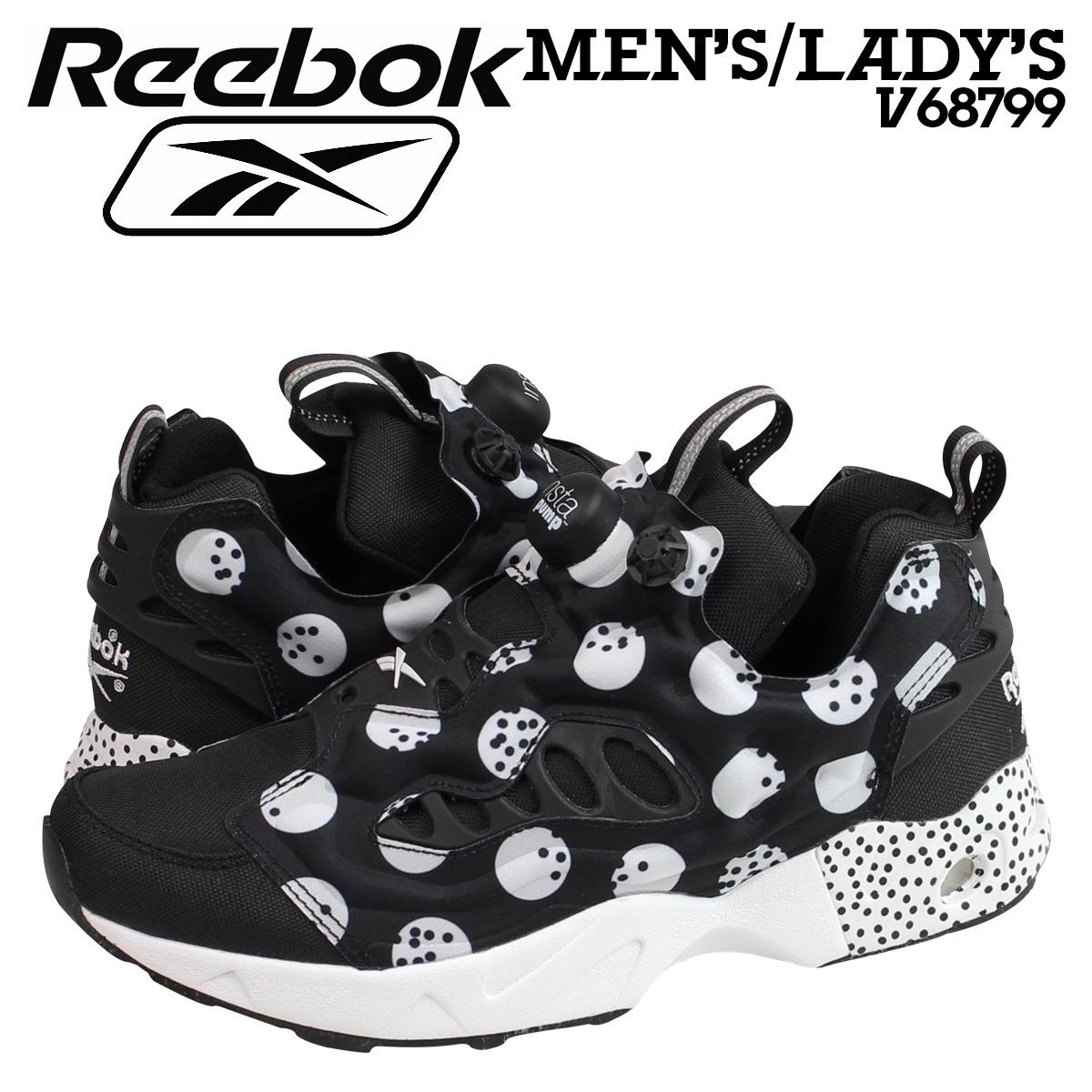 锐步锐步 insta 泵愤怒运动鞋 INSTAPUMP 愤怒道 SG V68799 男式女式鞋黑色