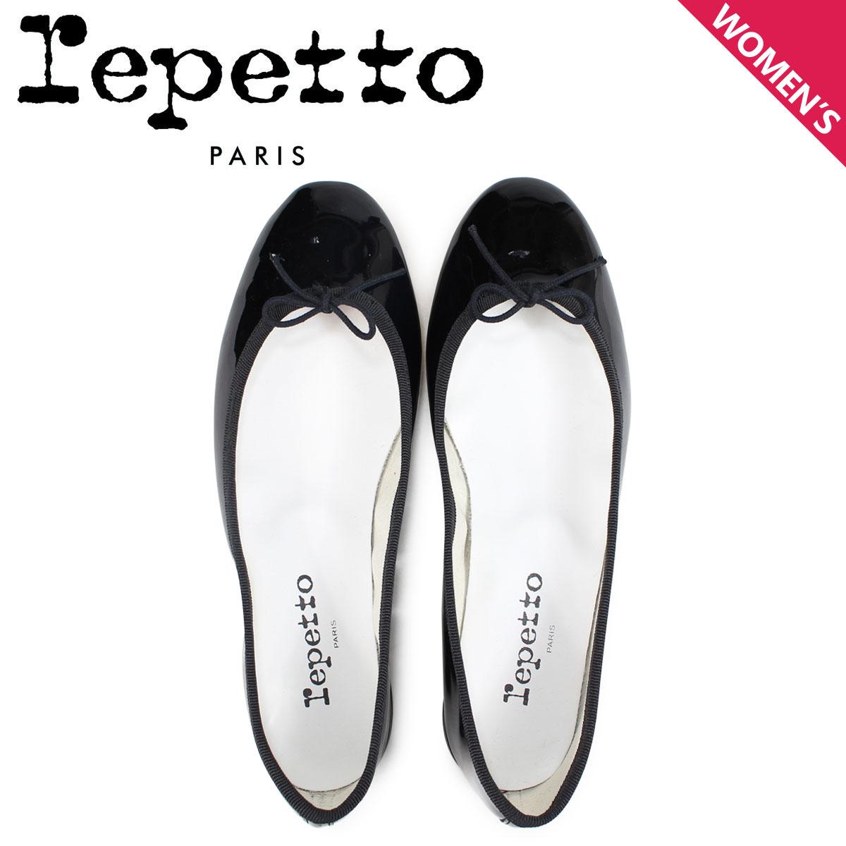 レペット Repetto バレエシューズ サンドリオン パンプス レディース CENDRILLON BALLERINA ブラック V086-410